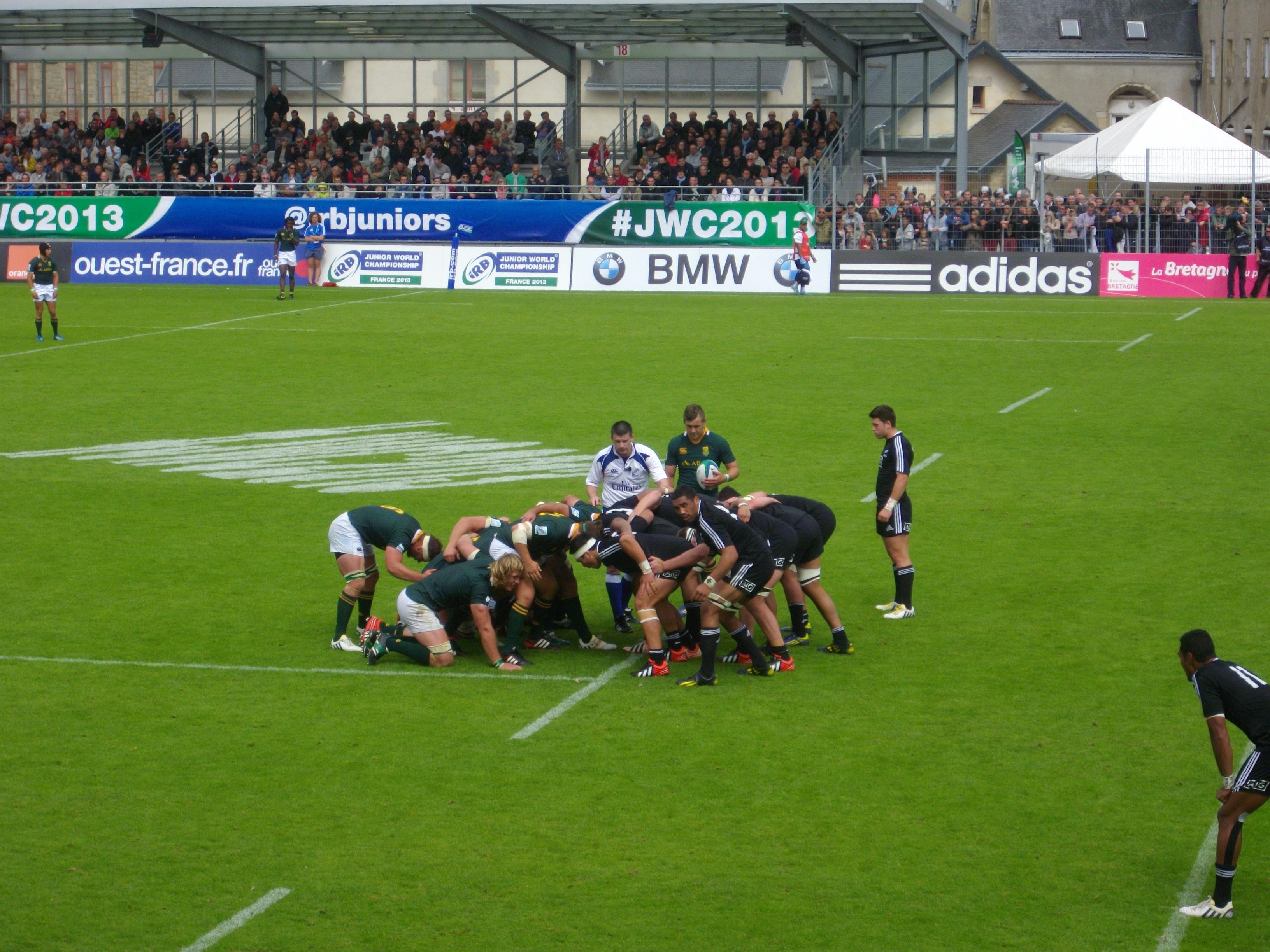 File coupe du monde junior de rugby xv 2013 3e place 12 jpg wikimedia commons - Place de rugby coupe du monde ...