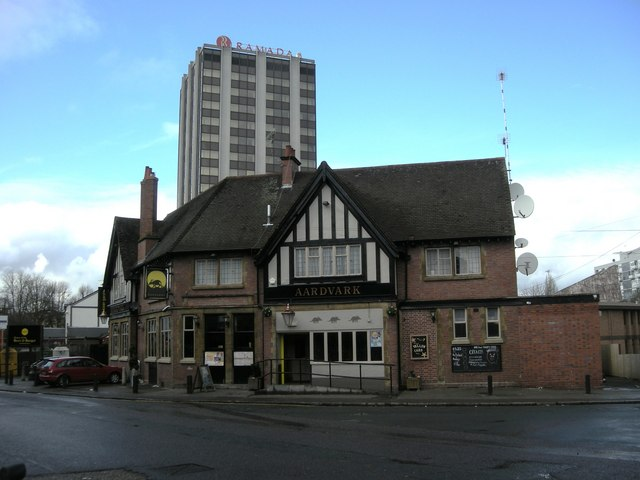 Creative Commons image of The Aardvark in Coventry