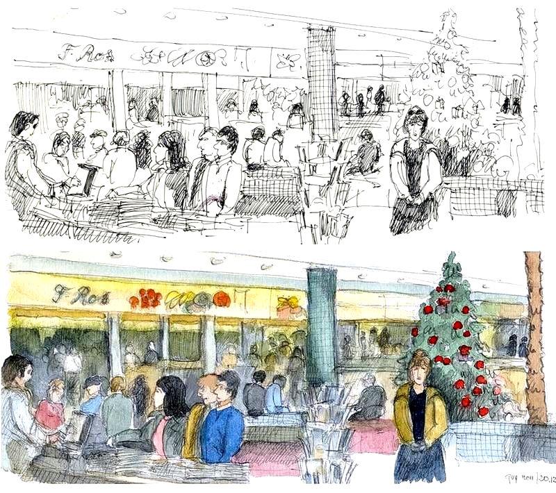 File:Croquis- le marché de Noël à Faro - Portugal (6548682783).jpg ...
