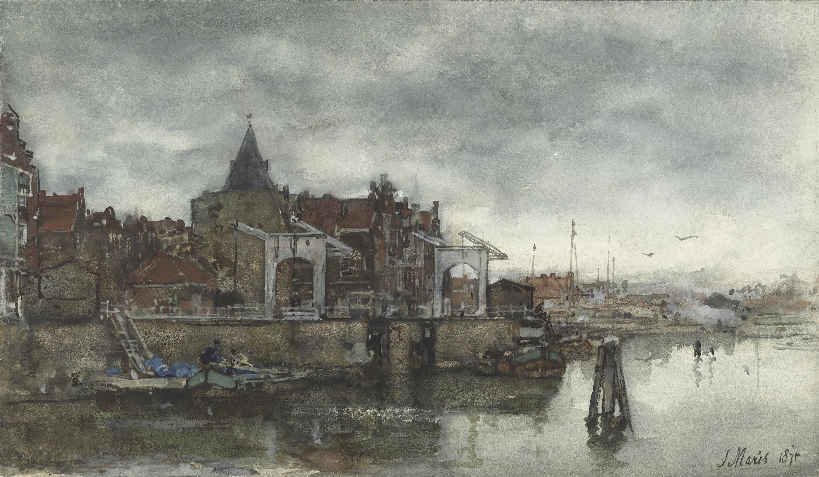 File:De Buitenkant met de Schreierstoren te Amsterdam Rijksmuseum SK-A-2478.