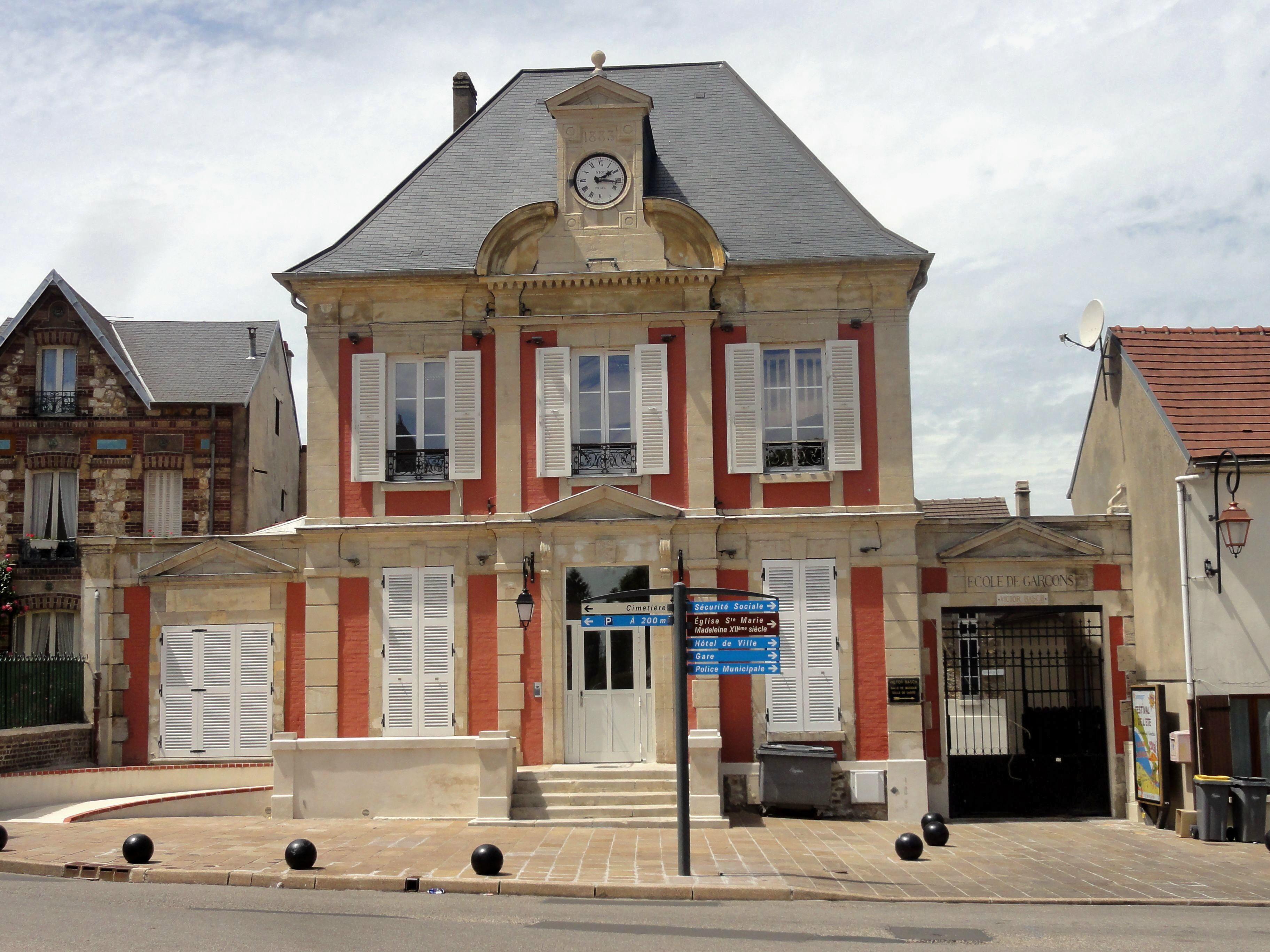 File domont 95 ancienne mairie rue de la for Restaurant domont 95