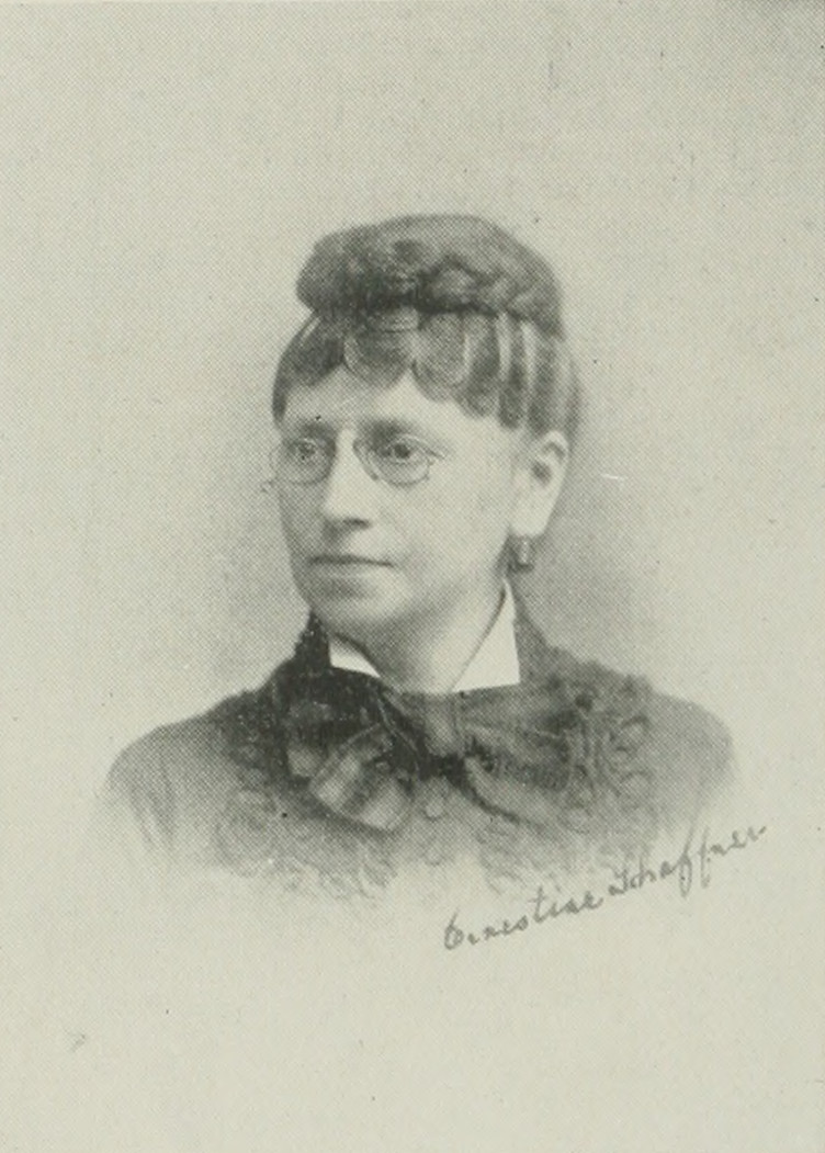 ERNESTINE SCHAFFNER A woman of the century (page 646 crop).jpg
