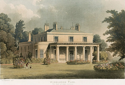 Wimbledon Park House The Last Manor Built For 2nd Earl Spencer 1799 1802 By Architect Henry Holland Demolished C1949