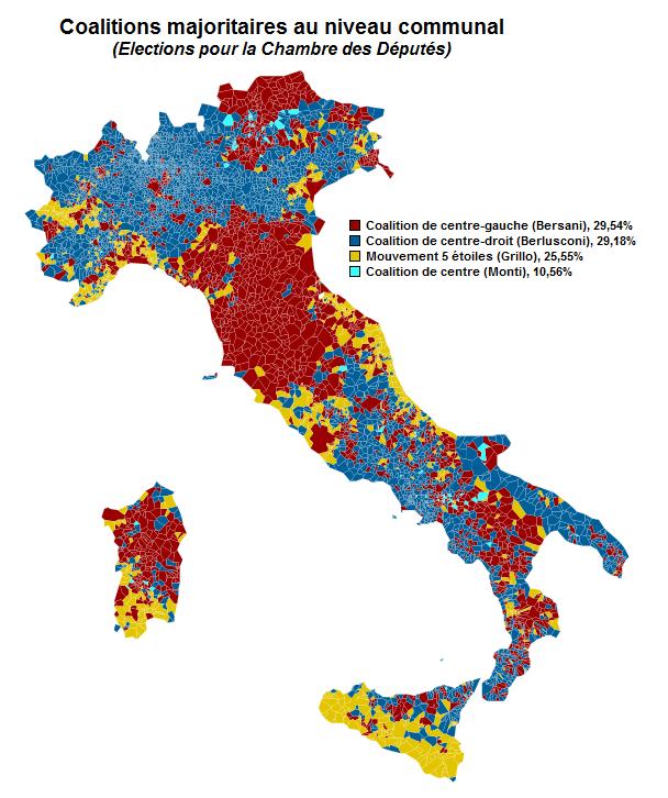 File Elections Italie 2013 Coalitions Majoritaires Au Niveau