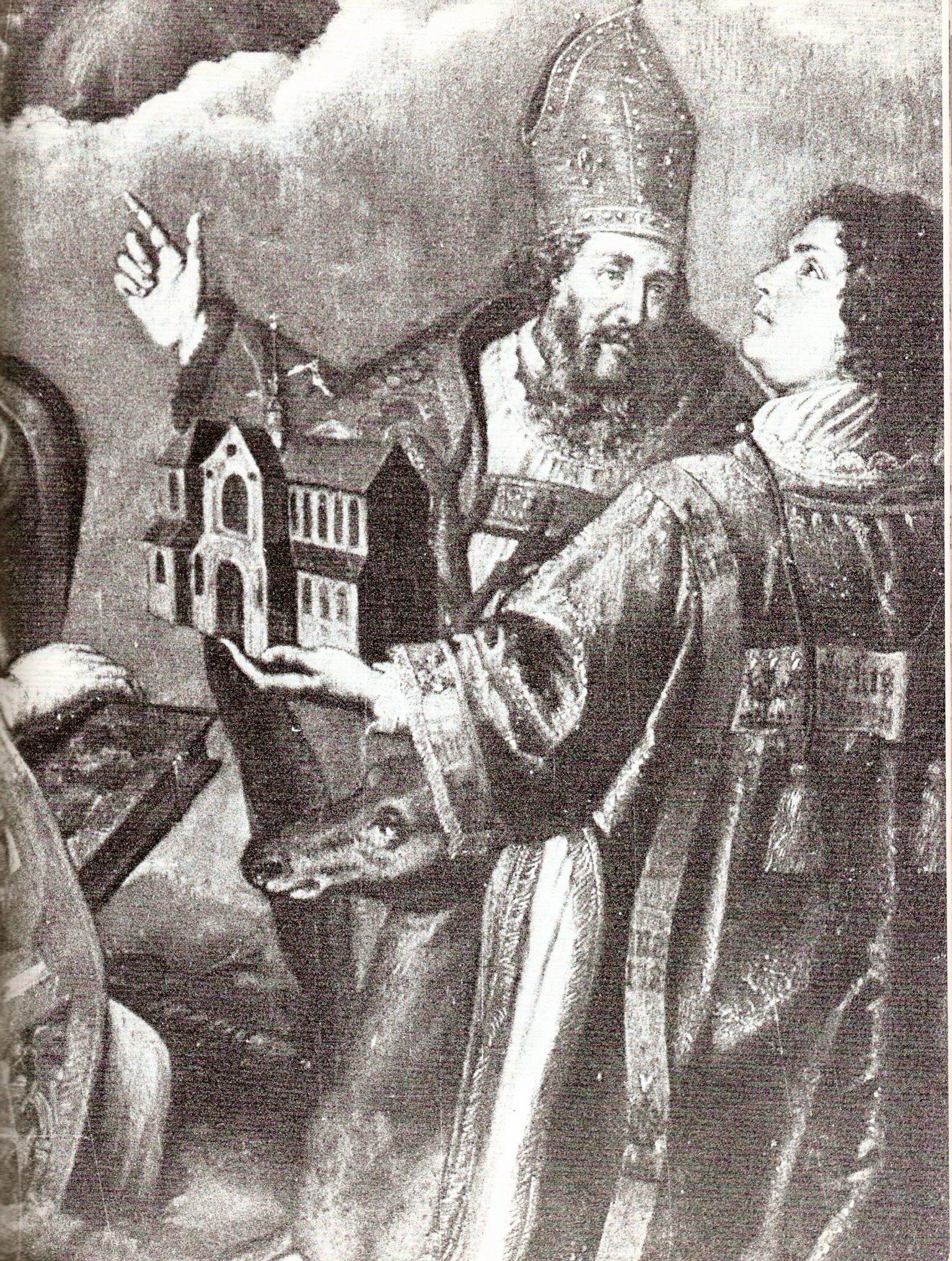 Historienmalerei  File:FBPB 29 Bischof Badurad 815 Barocke Historienmalerei.jpg ...