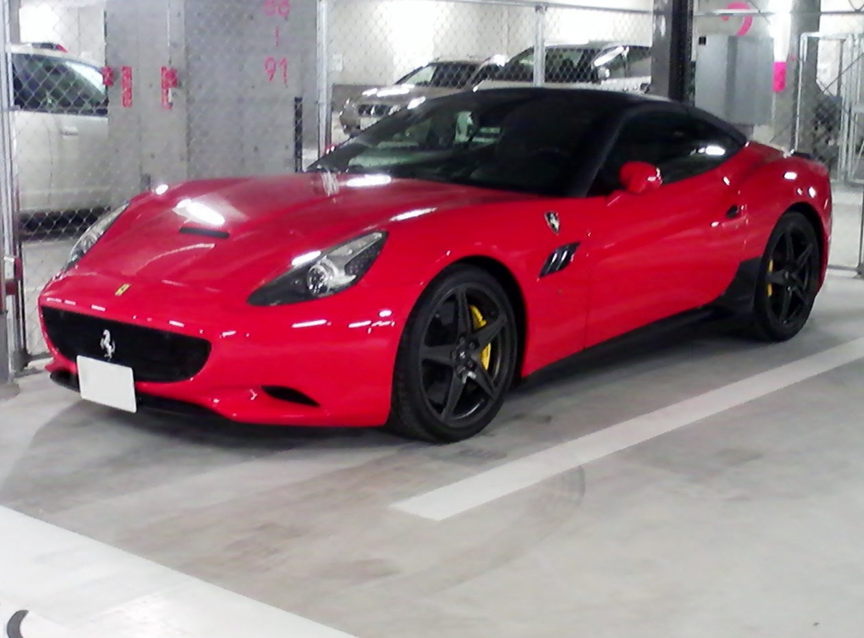 File Ferrari California Front Jpg Wikimedia Commons