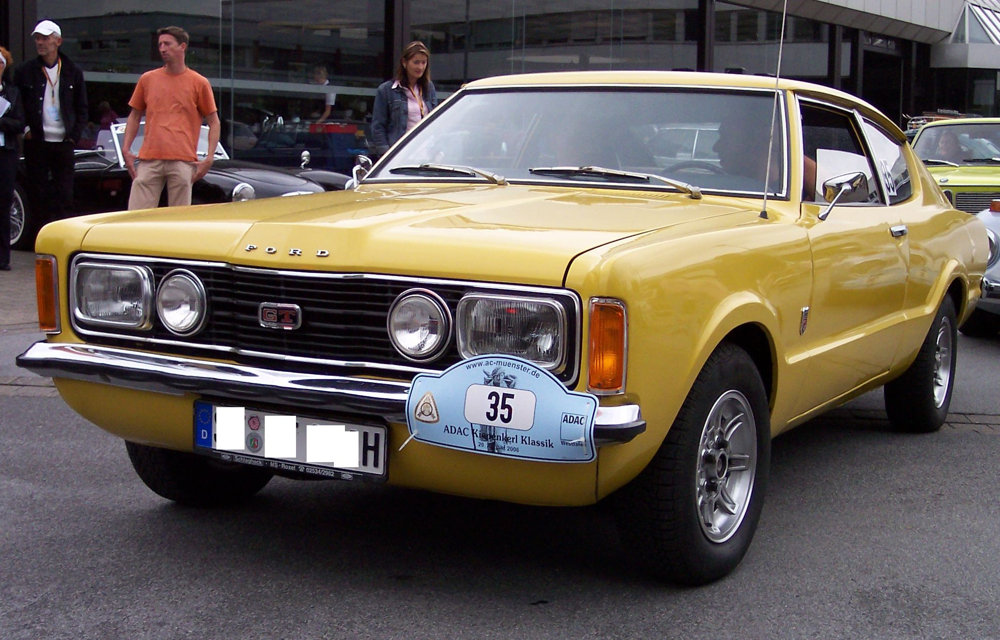 file ford taunus coupe 2 0 1972 yellow. Black Bedroom Furniture Sets. Home Design Ideas