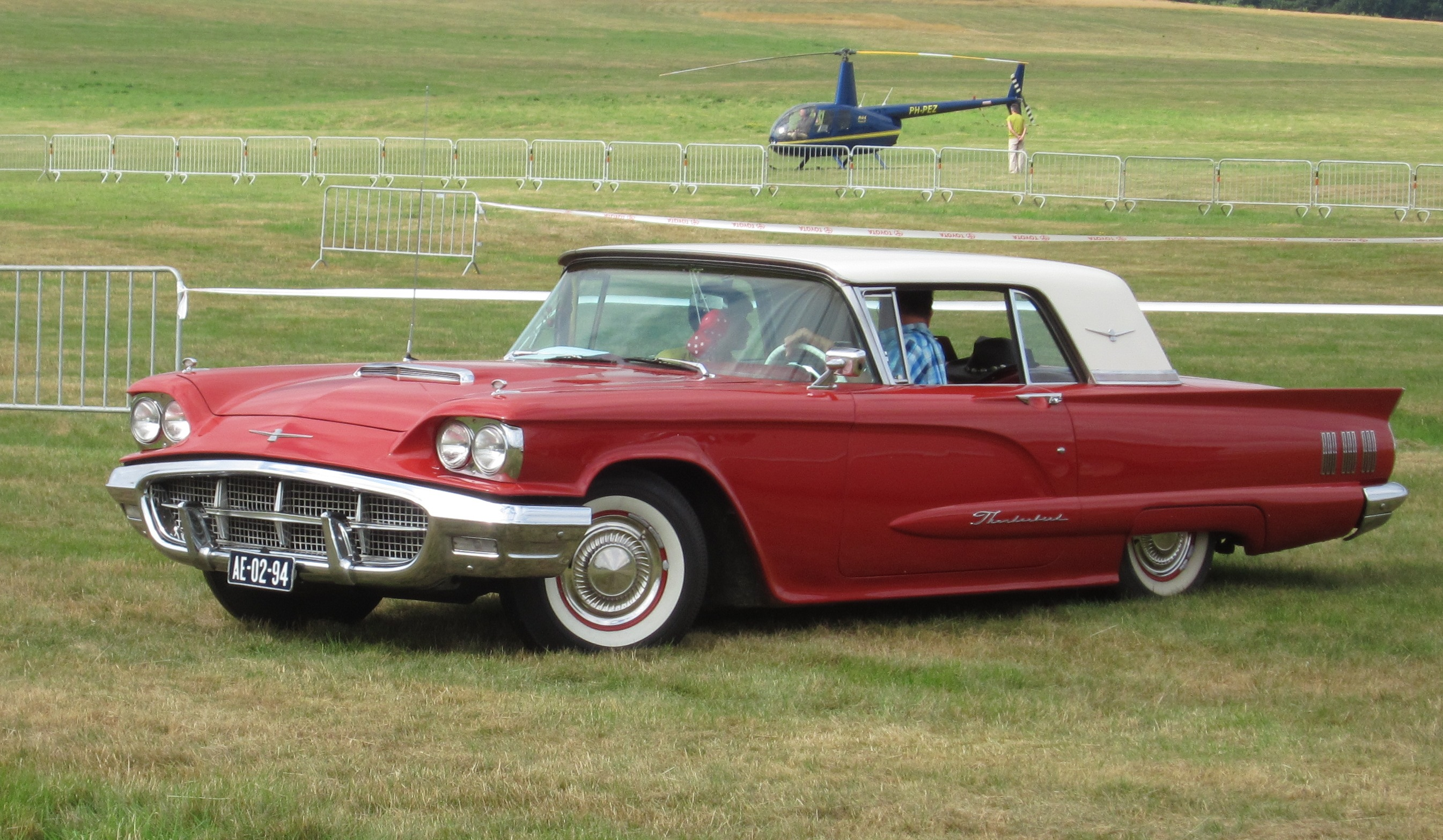 file ford thunderbird 1960 at schaffen diest fly drive. Cars Review. Best American Auto & Cars Review