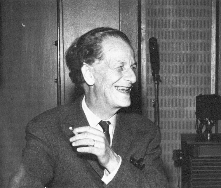 Frank Martin Suomen-vierailullaan vuonna 1959.