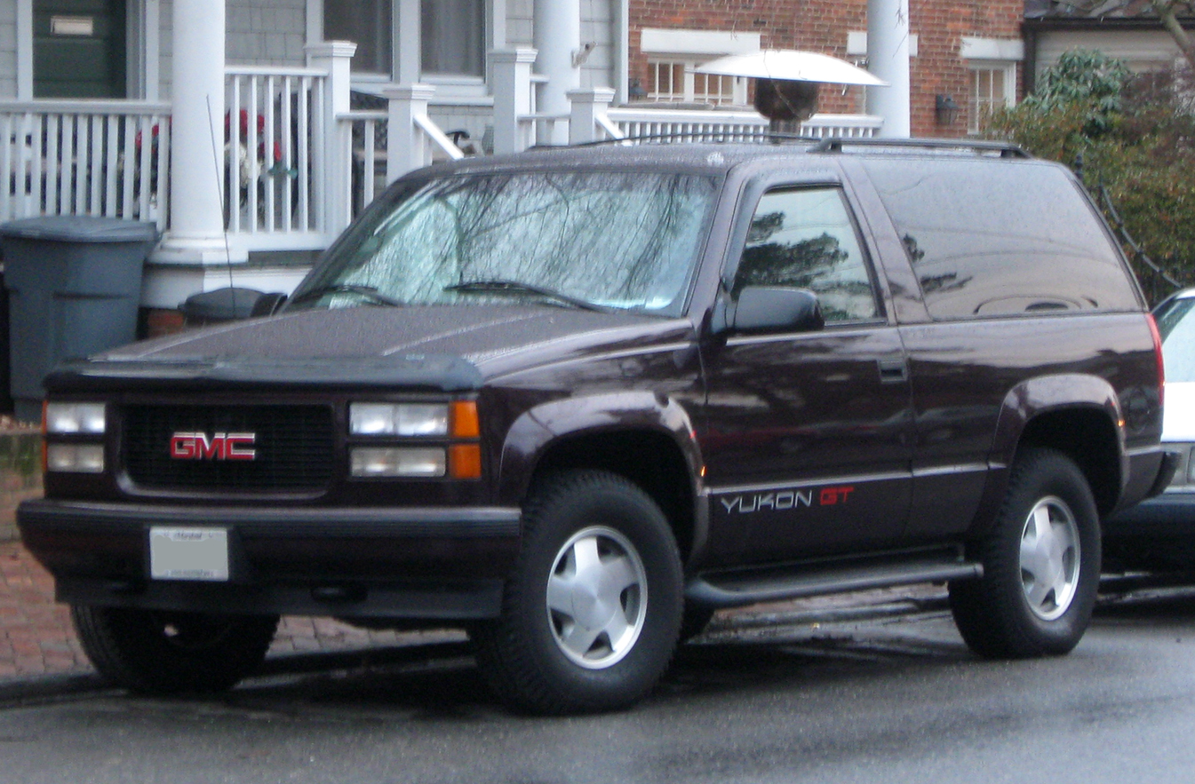 File Gmc Yukon Gt 01 20 2010 Jpg Wikimedia Commons