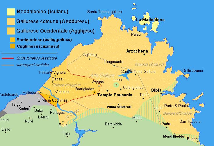 Budoni Sardegna Cartina.File Gall Sub Png Wikipedia