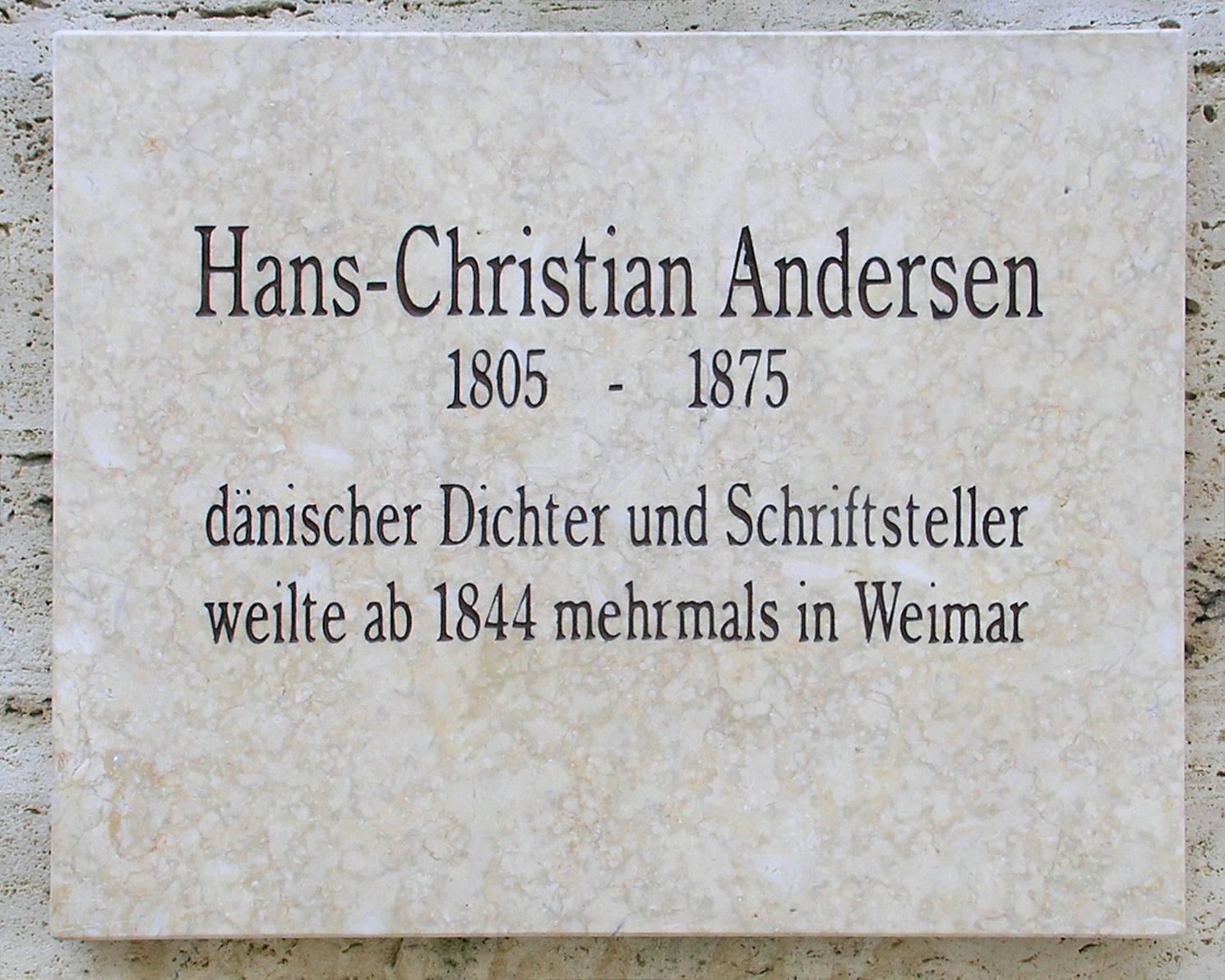 wiki Hans Christian Andersen