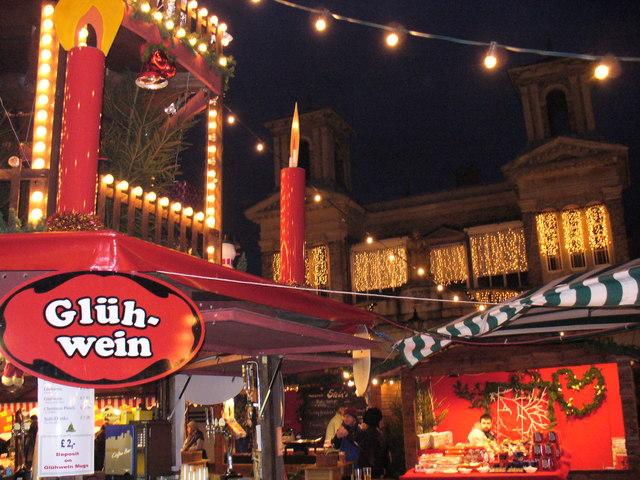 German Christmas Market, Kingston Market Place - geograph.org.uk - 293606