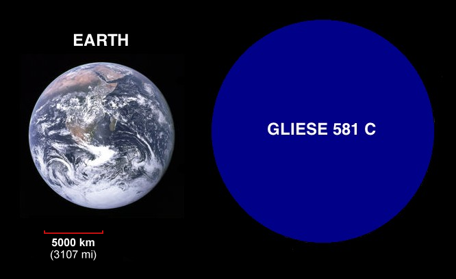 New Earth Like Planet Discovered Gliese 581c - Pics about ...