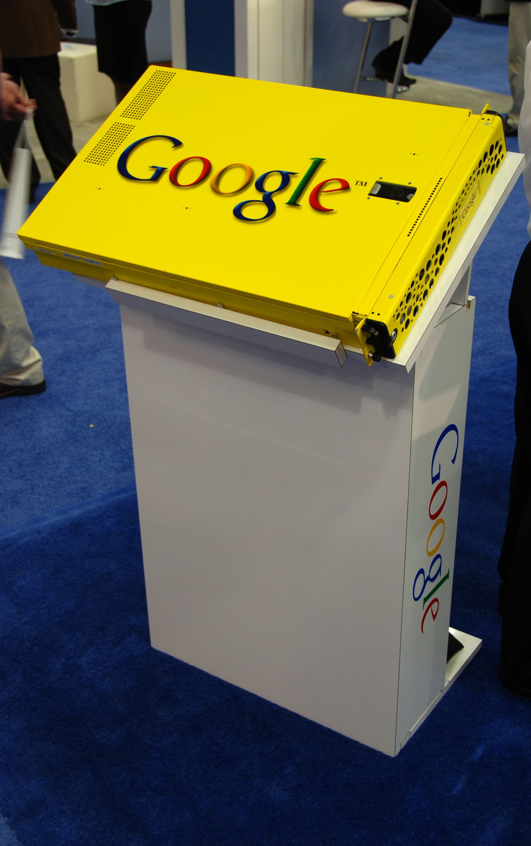 Google's search appliance at the 2008 RSA Conference