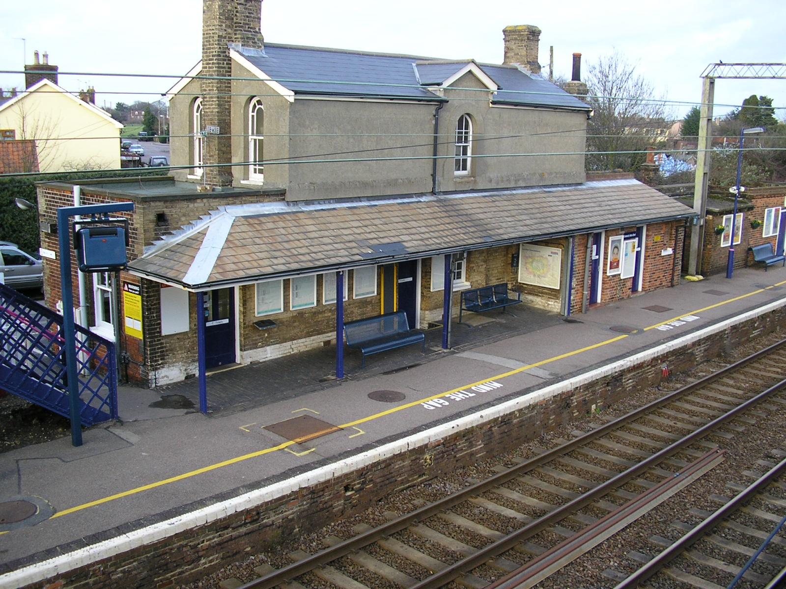 Great Bentley railway station - Wikipedia
