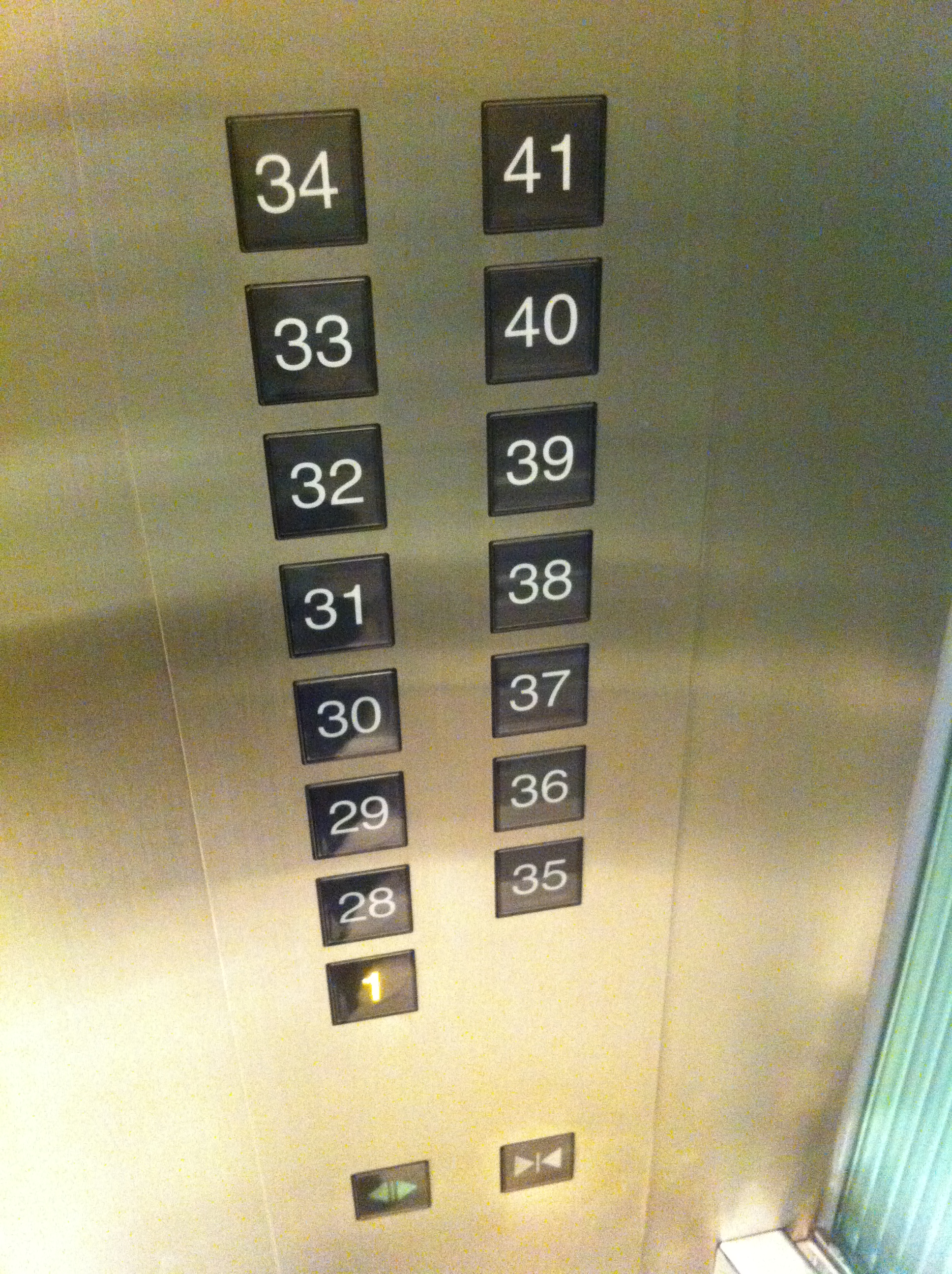 elevator buttons #10