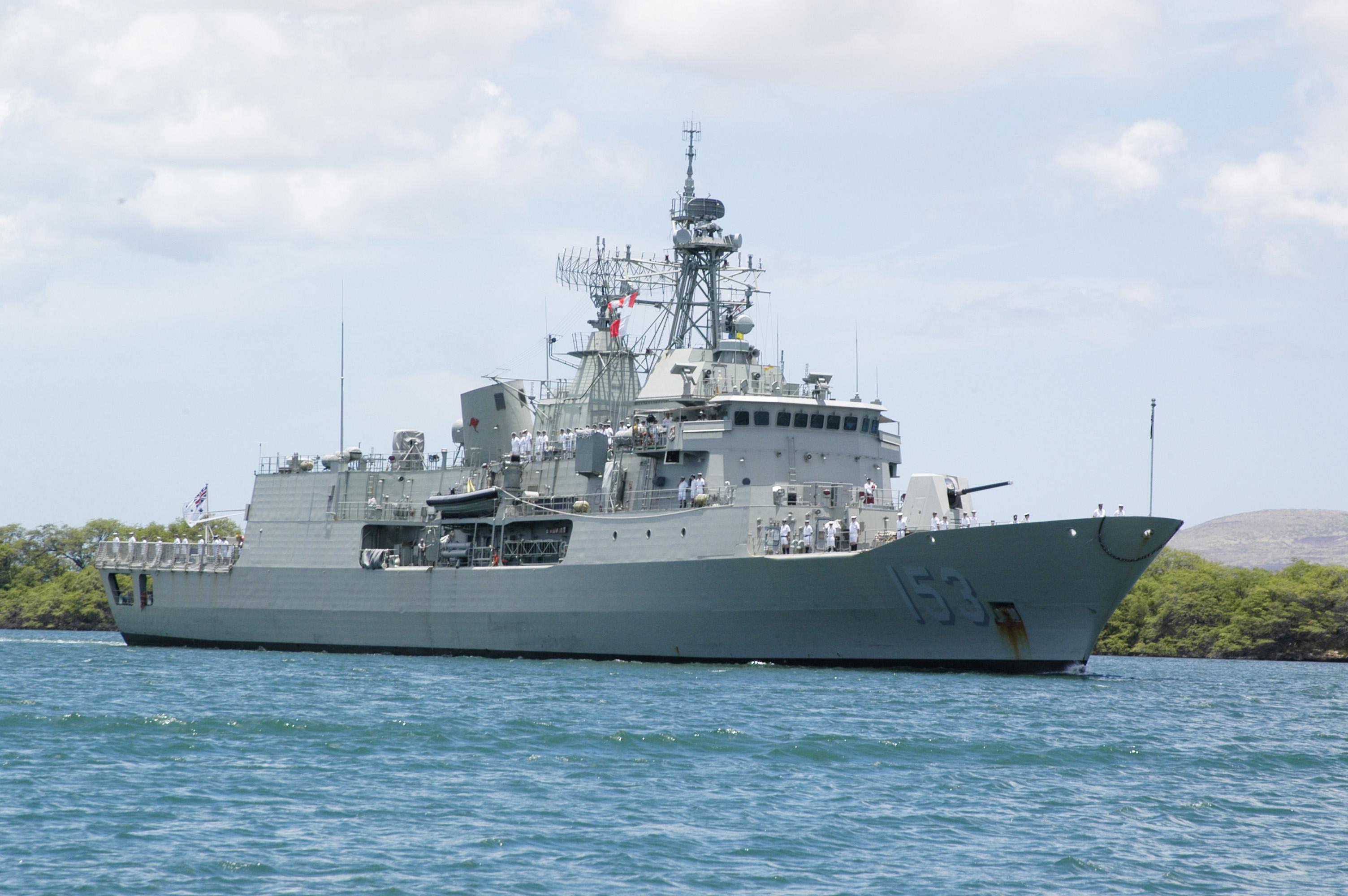 HMAS Stuart (FFH 153) in 2006