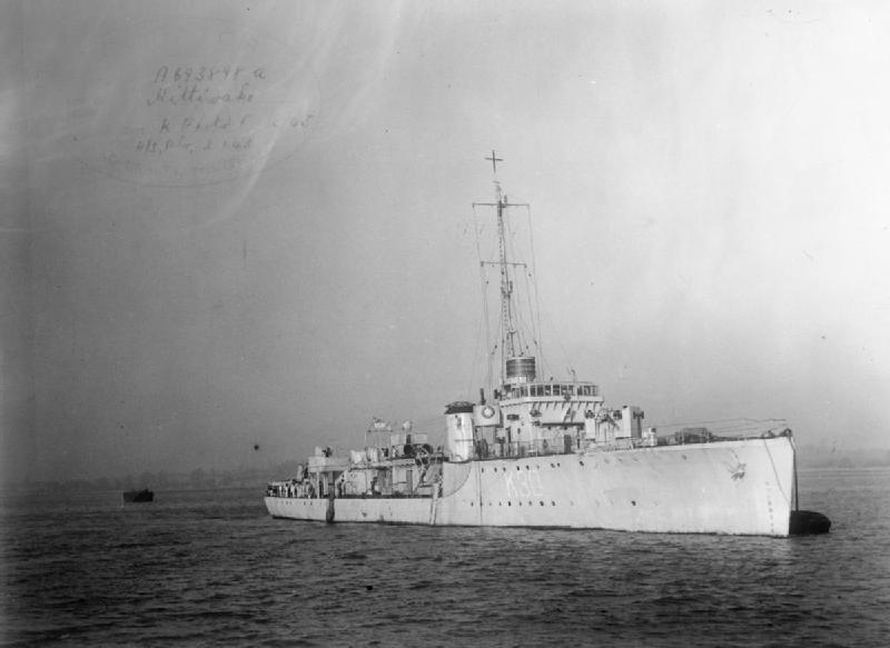 HMS Kittiwake 1942