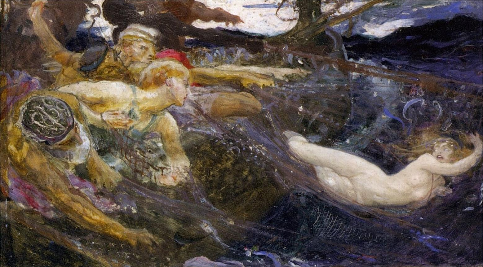 http://upload.wikimedia.org/wikipedia/commons/6/69/Herbert_James_Draper%2C_Oil_Study_for_The_Sea_Maiden.jpg