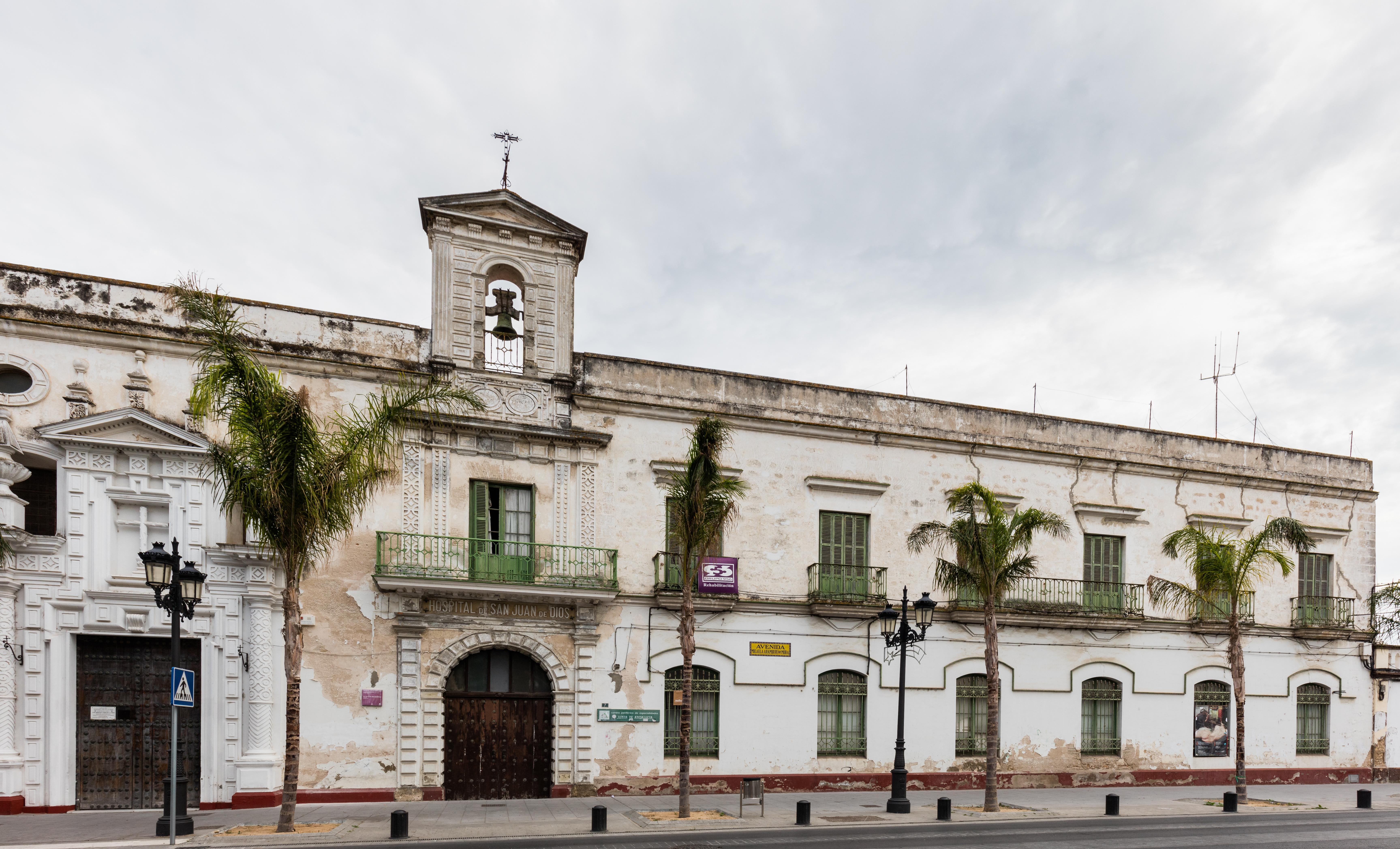 Archivo hospital san juan de dios el puerto de santa mar a espa a 2015 12 08 dd 09 jpg - Tren el puerto de santa maria madrid ...