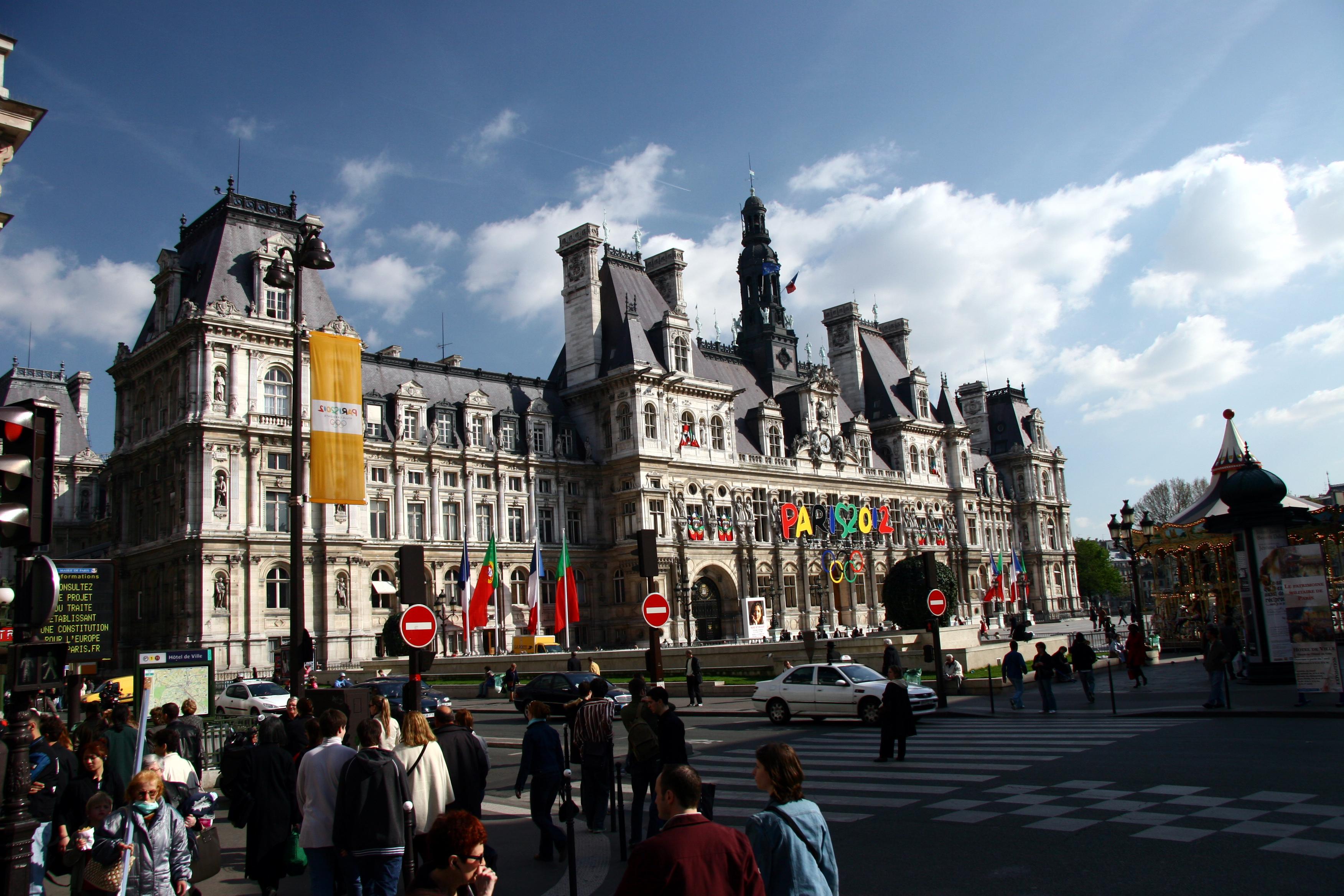 File hotel de ville de paris west for Hotel deville paris