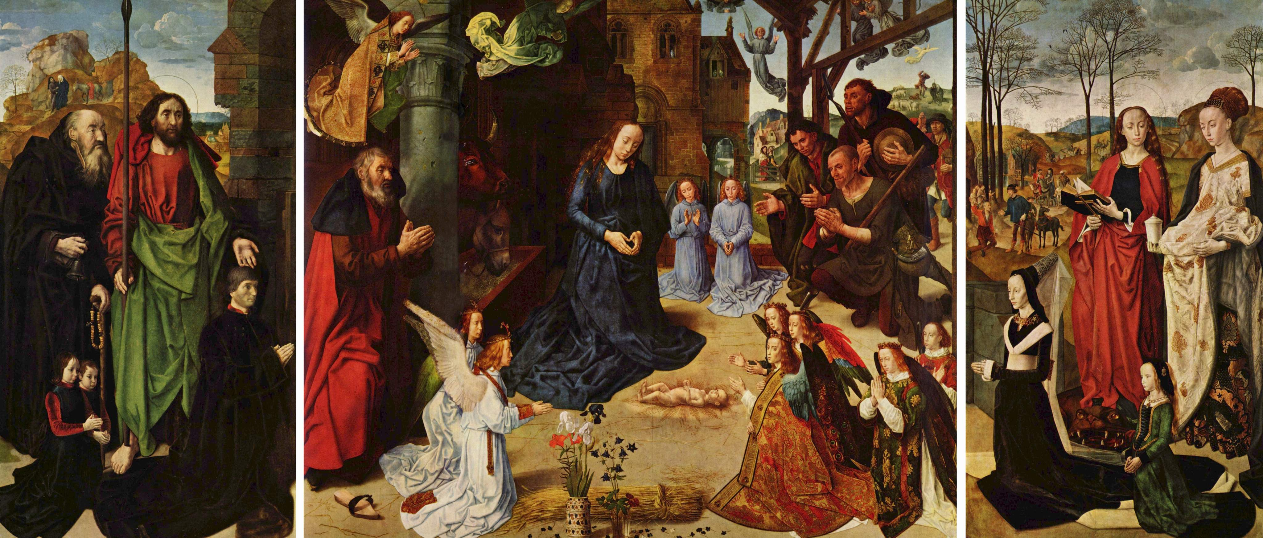 The Portinari Altarpiece by Hugo van der Goes