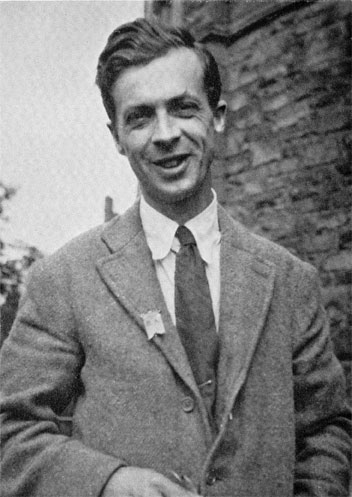 Julian Huxley as Fellow of <br />[[New College, Oxford]], 1922