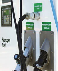 English: Hydrogen fueling nozzle