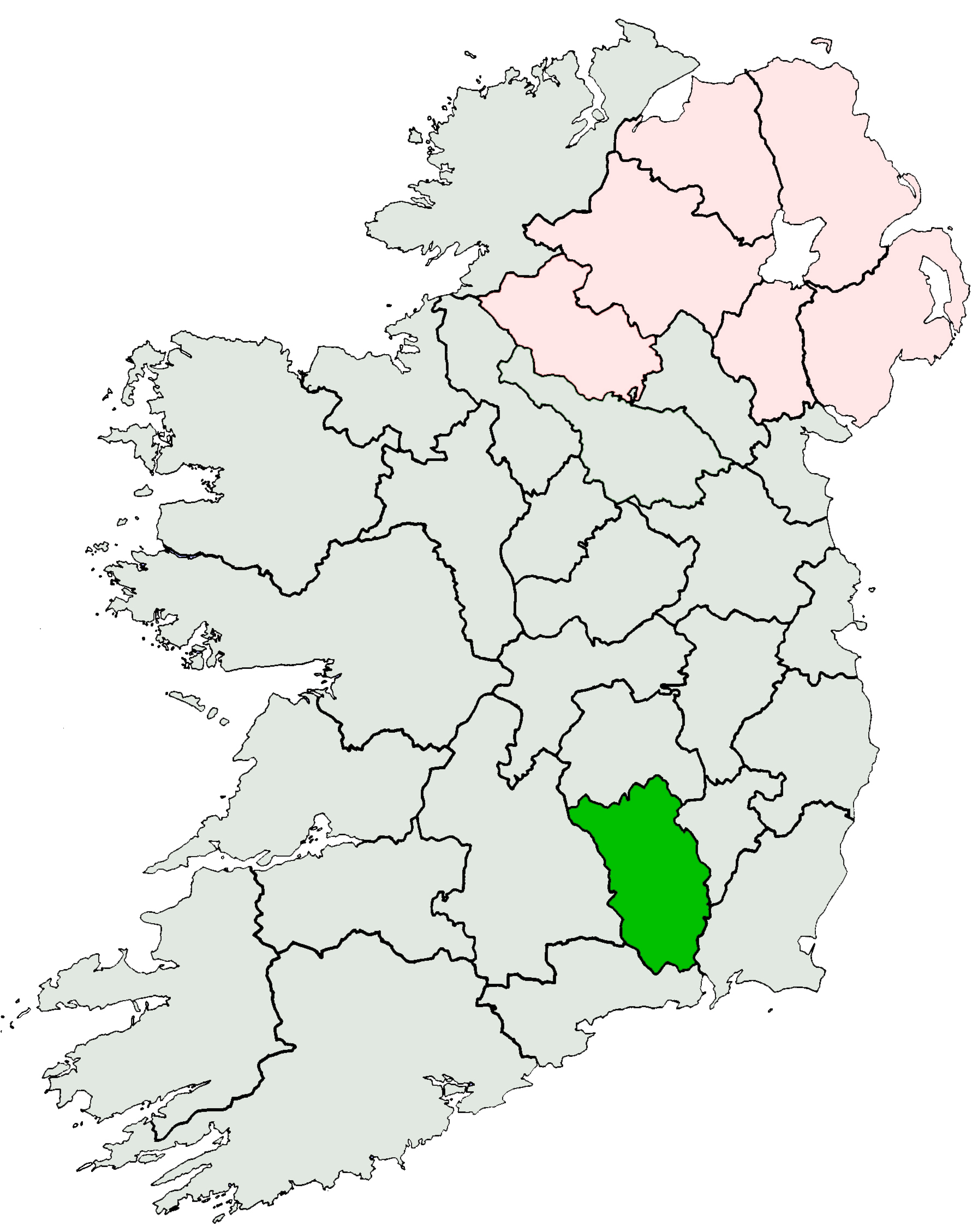 Where Is Kilkenny In Ireland Map - Where is ireland