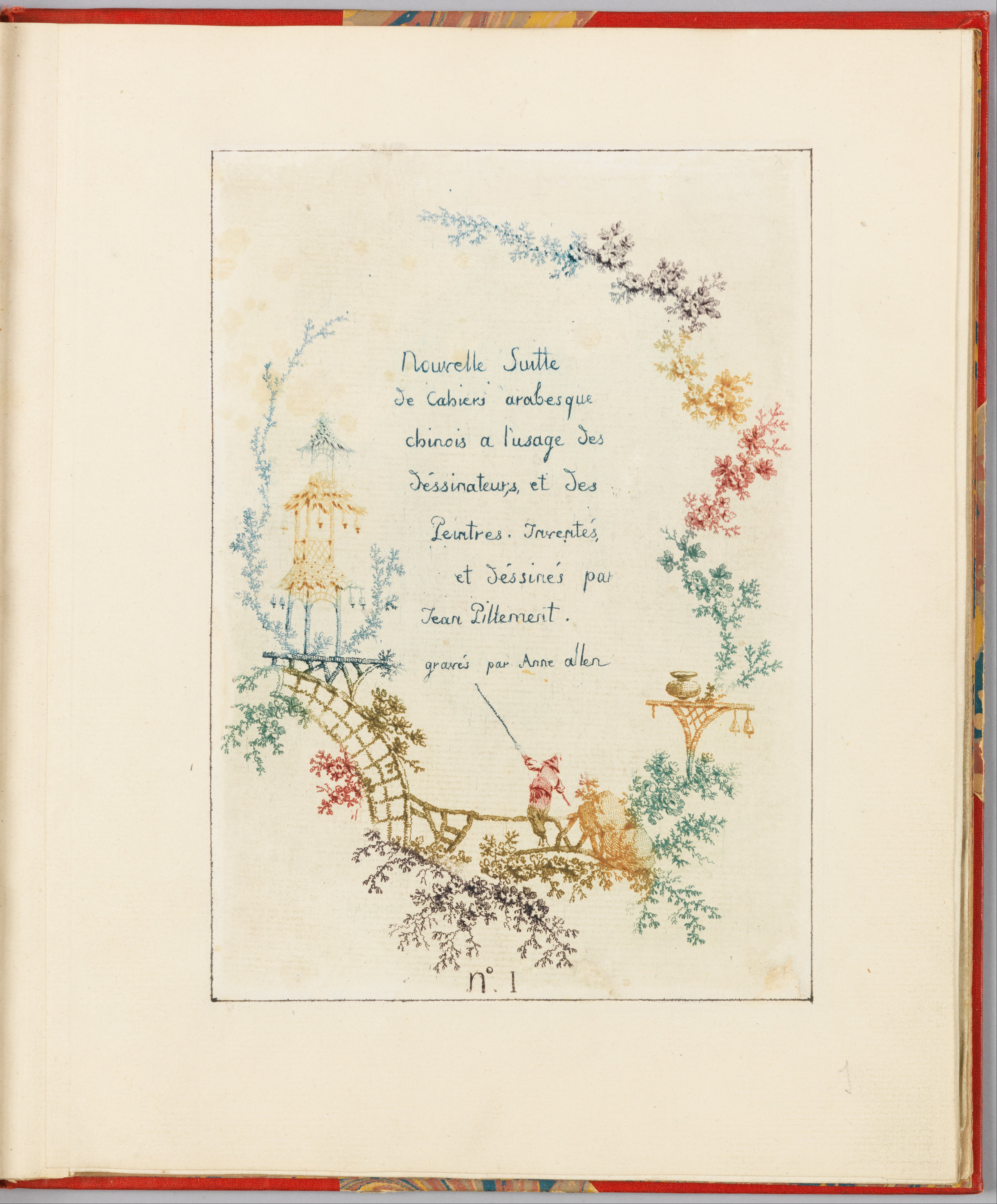 File Jean Baptiste Pillement Title Page Plate 1 From