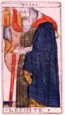 O Eremita (tarô) – Wikipédia, a enciclopédia livre