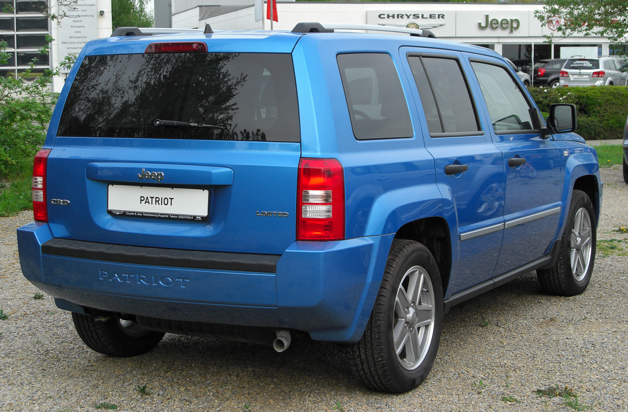 File Jeep Patriot Limited 2 0 Crd Rear 20100429 Jpg