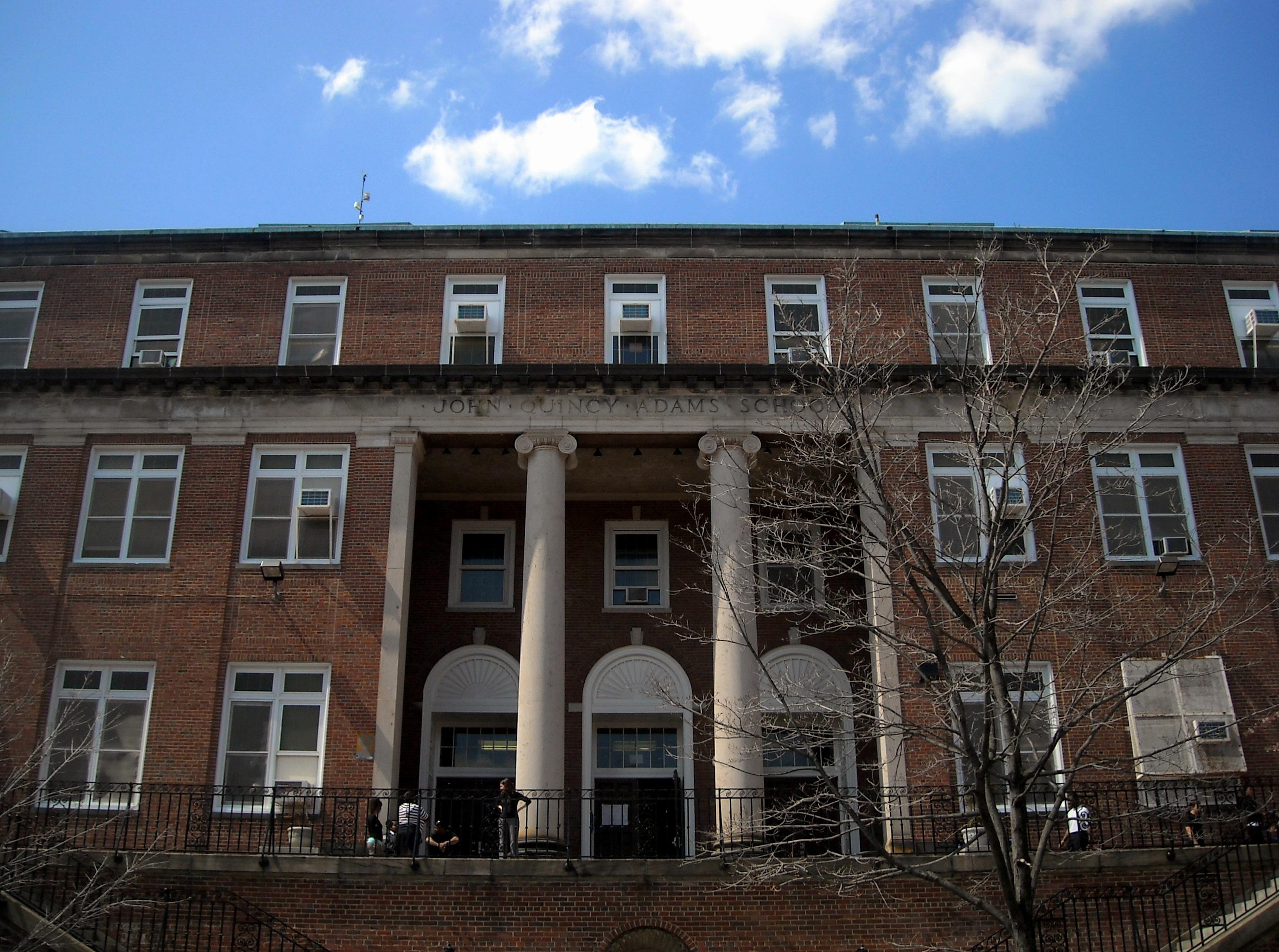 File John Quincy Adams Elementary School Jpg Wikimedia