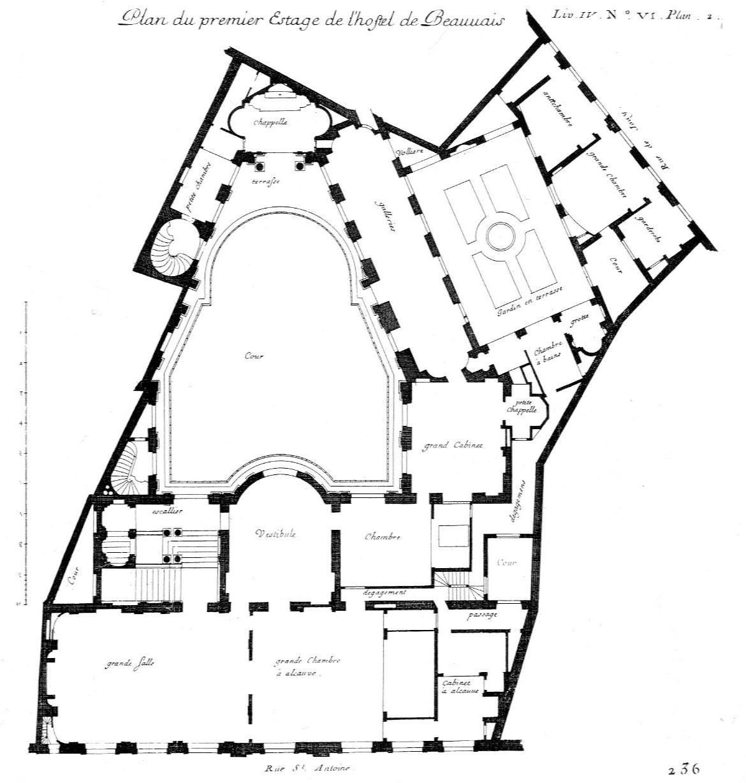 Salon Floor Plan File K Beauvais Plan 2 Jpg Wikimedia Commons