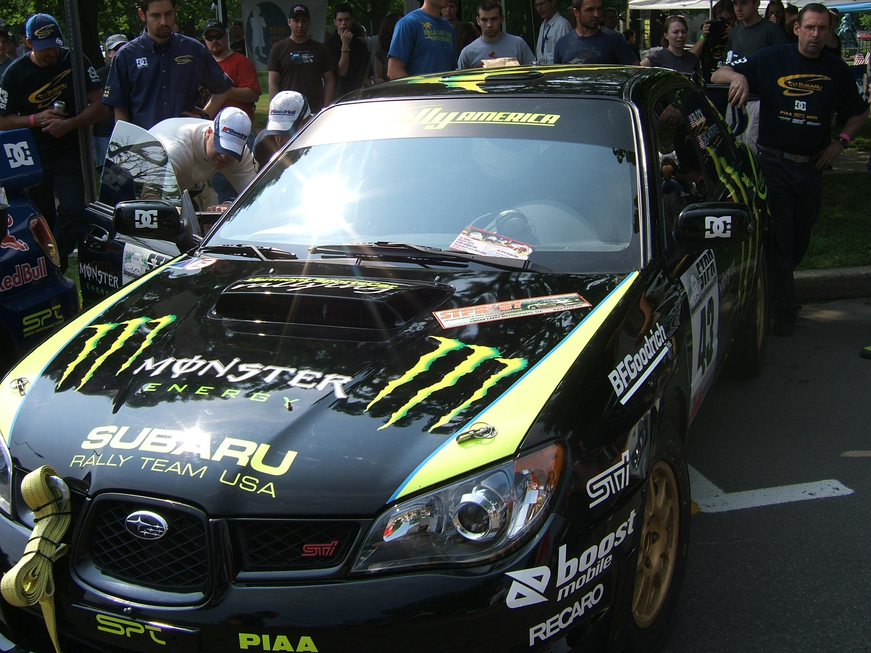 File:Ken Block Subaru Impreza WRX STI Susquehannock Rally 2007 002