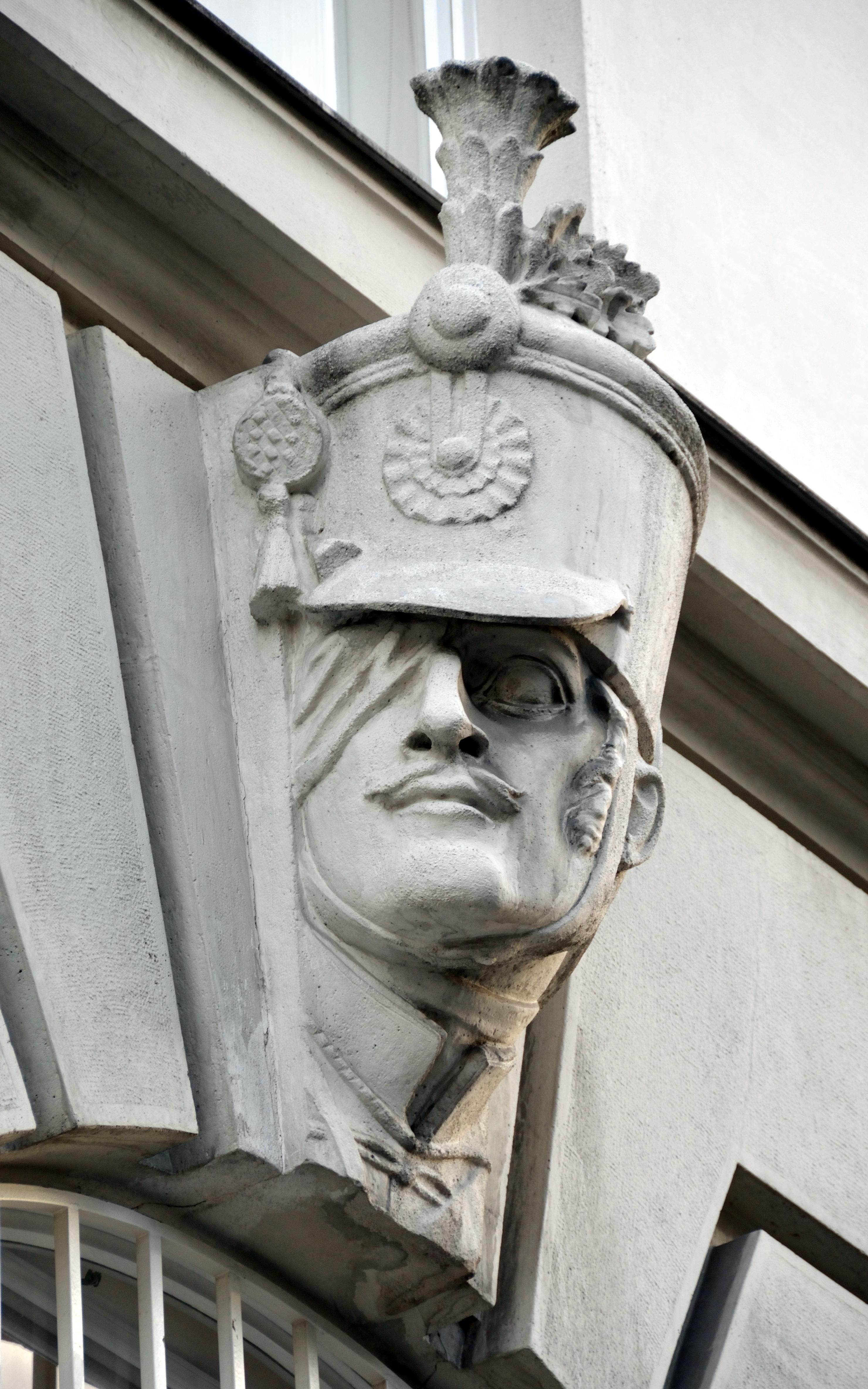 Keystone of Regierungsgebäude, Vienna 10.jpg