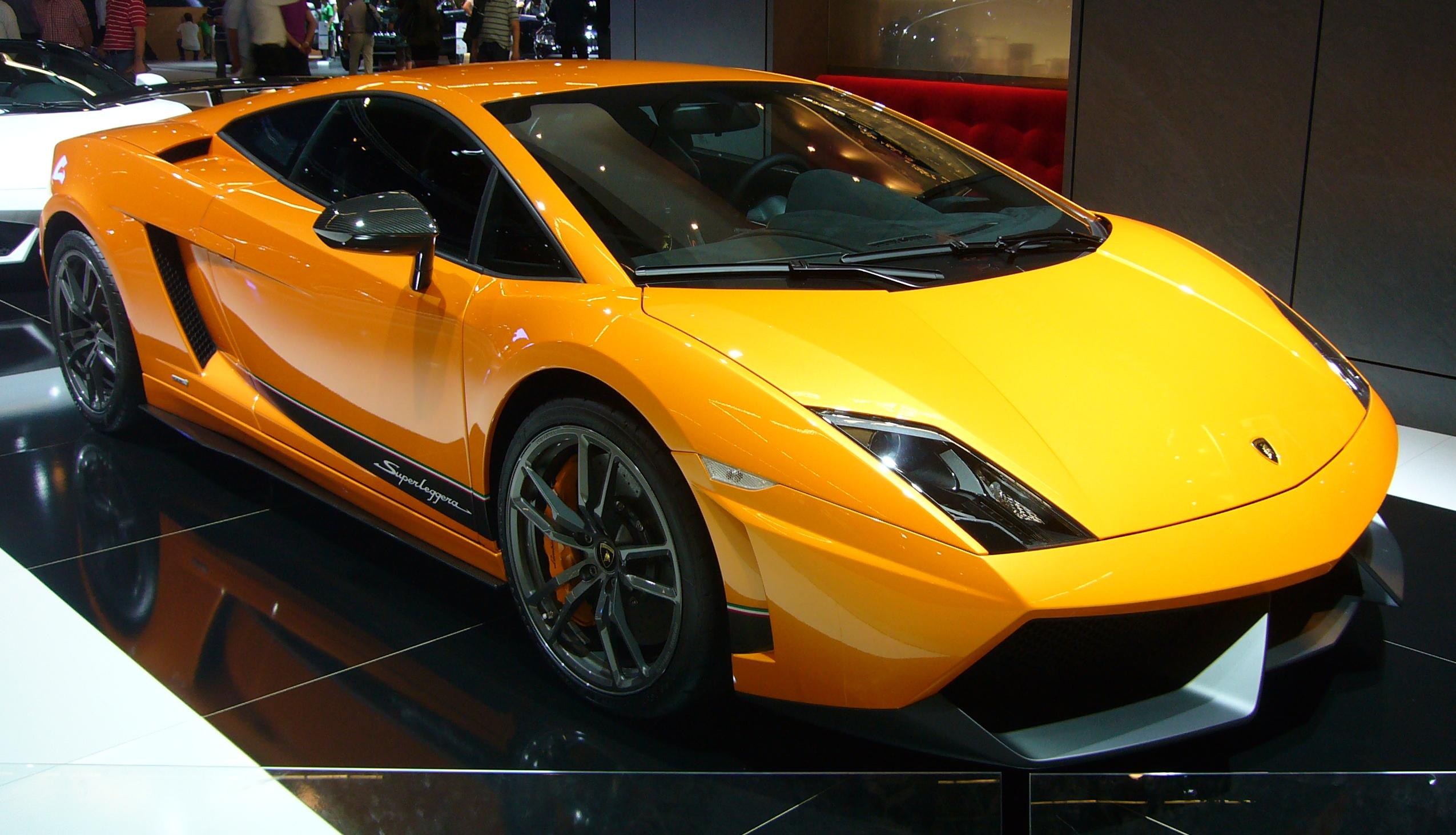 File Lamborghini Gallardo Lp570 4 Superleggera Front