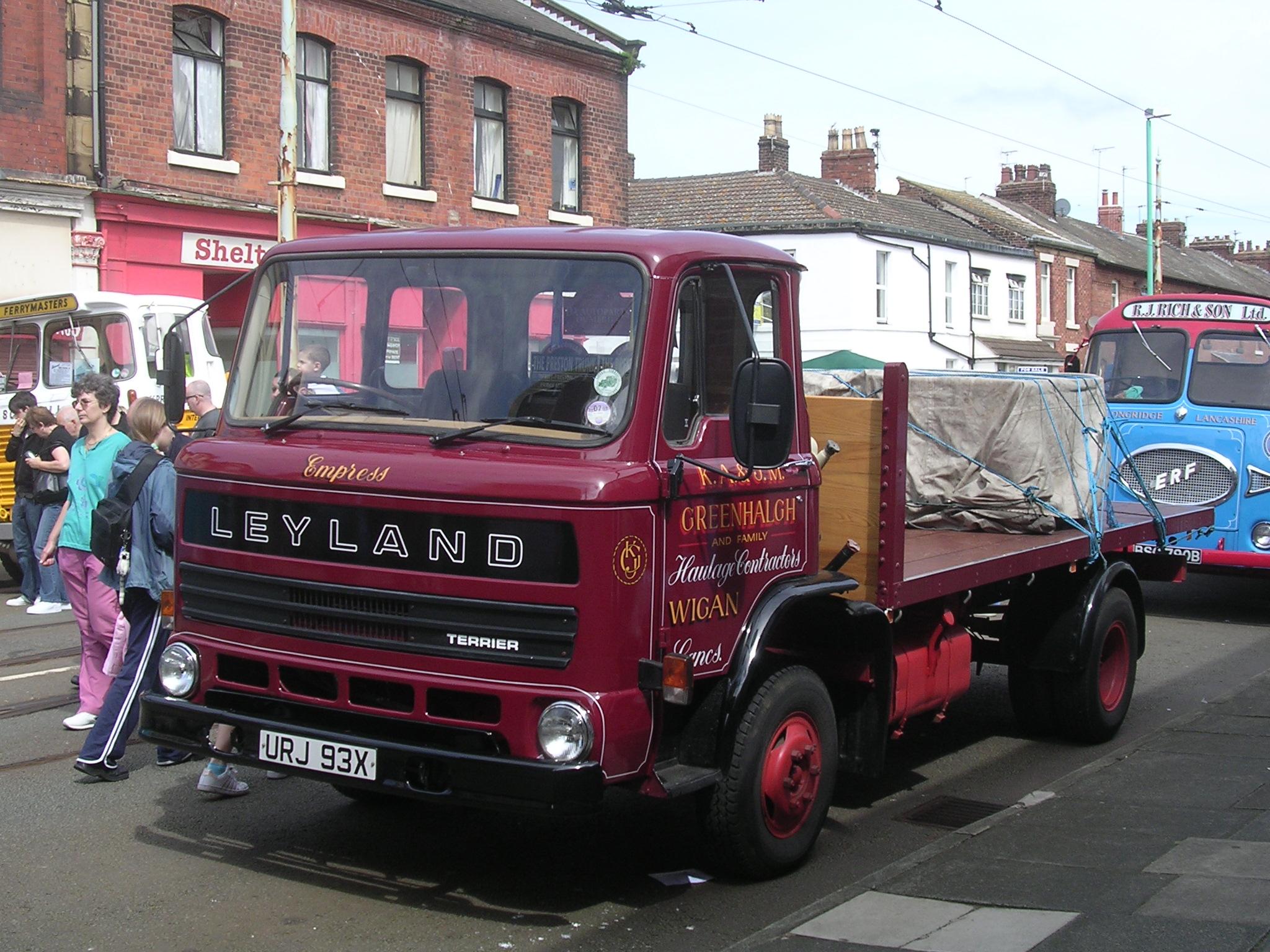 File:Leyland Terrier truck.jpg - Wikimedia Commons