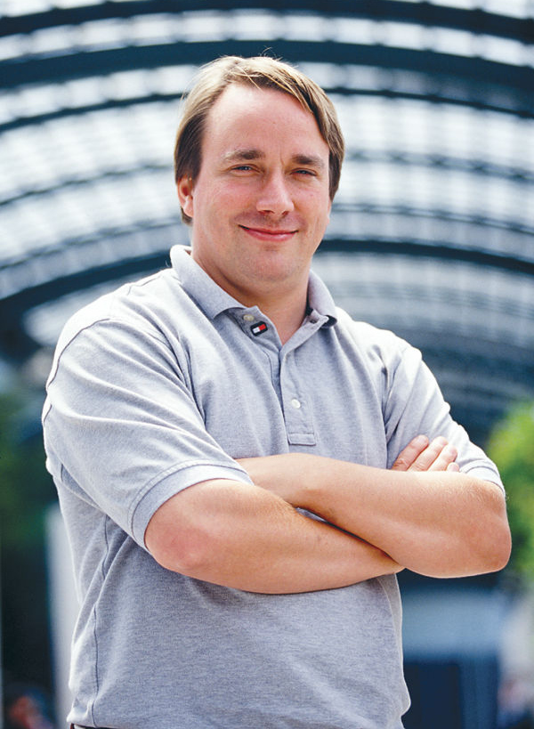 Photo de Linus Torvalds