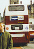 Lothian Buses bus, Leyland Madder and White livery, March 2002.jpg