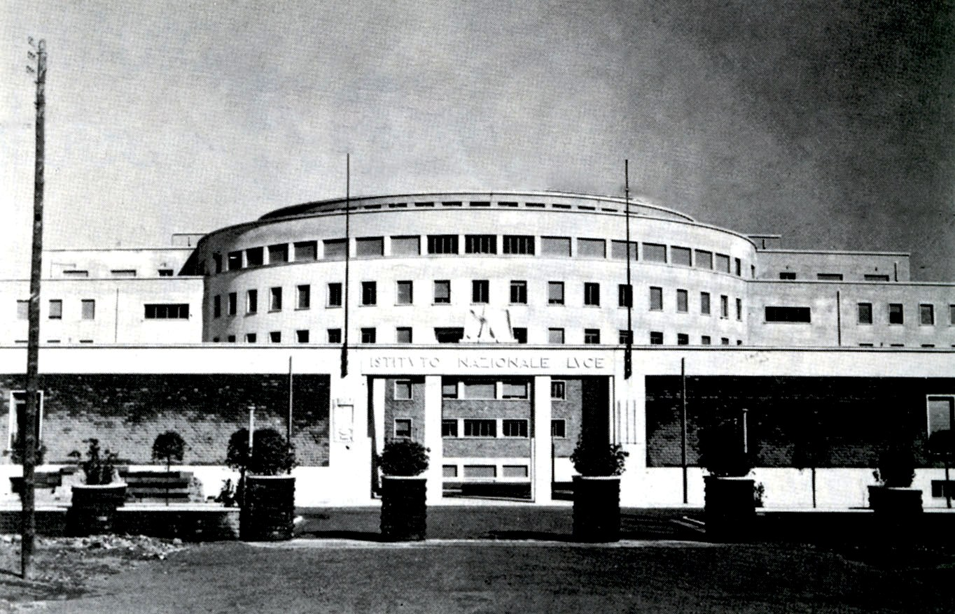 New seat of the Istituto Luce in 1937