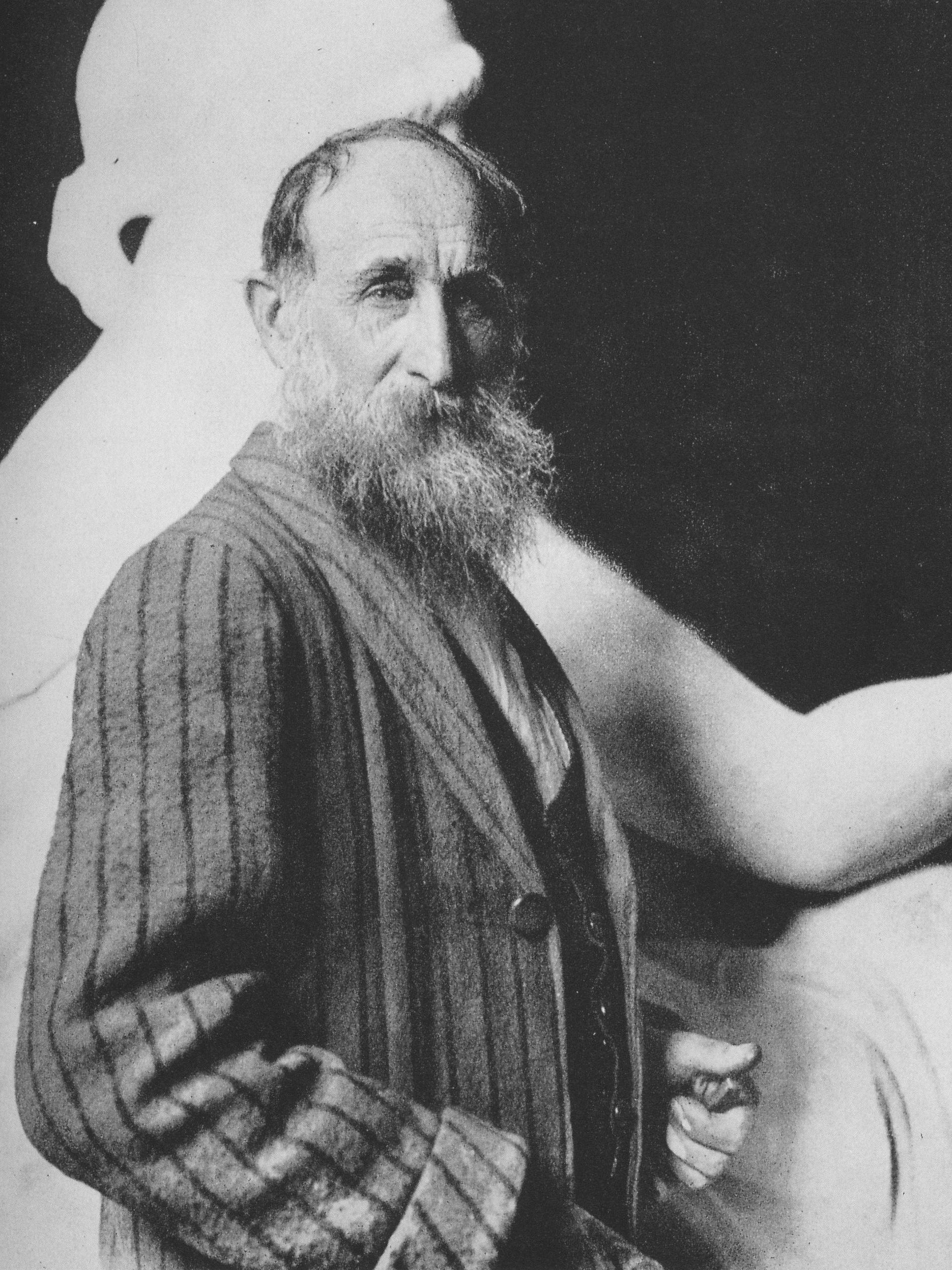 Depiction of Aristide Maillol