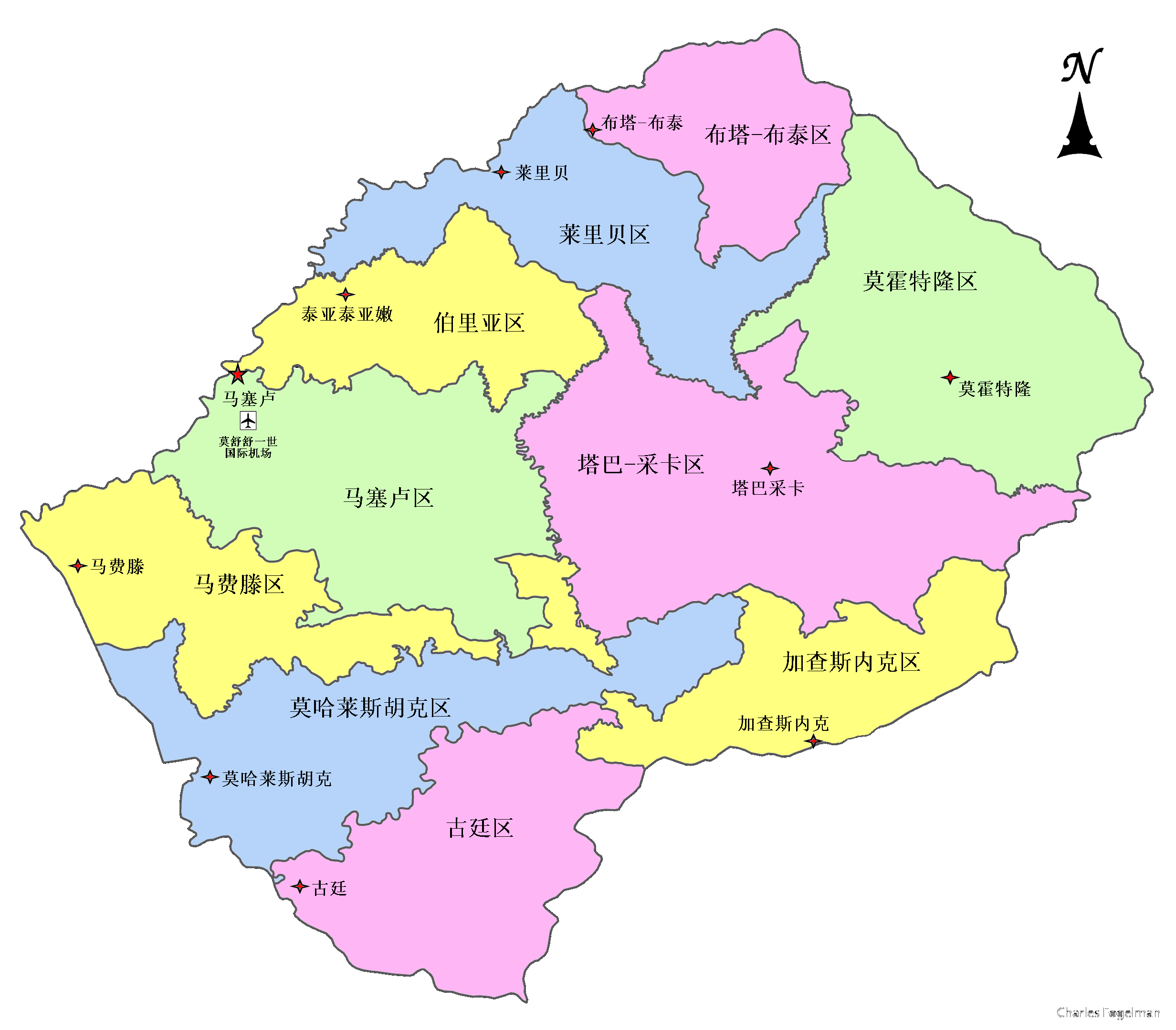 FileMap Of Lesothopng Wikimedia Commons - Lesotho map