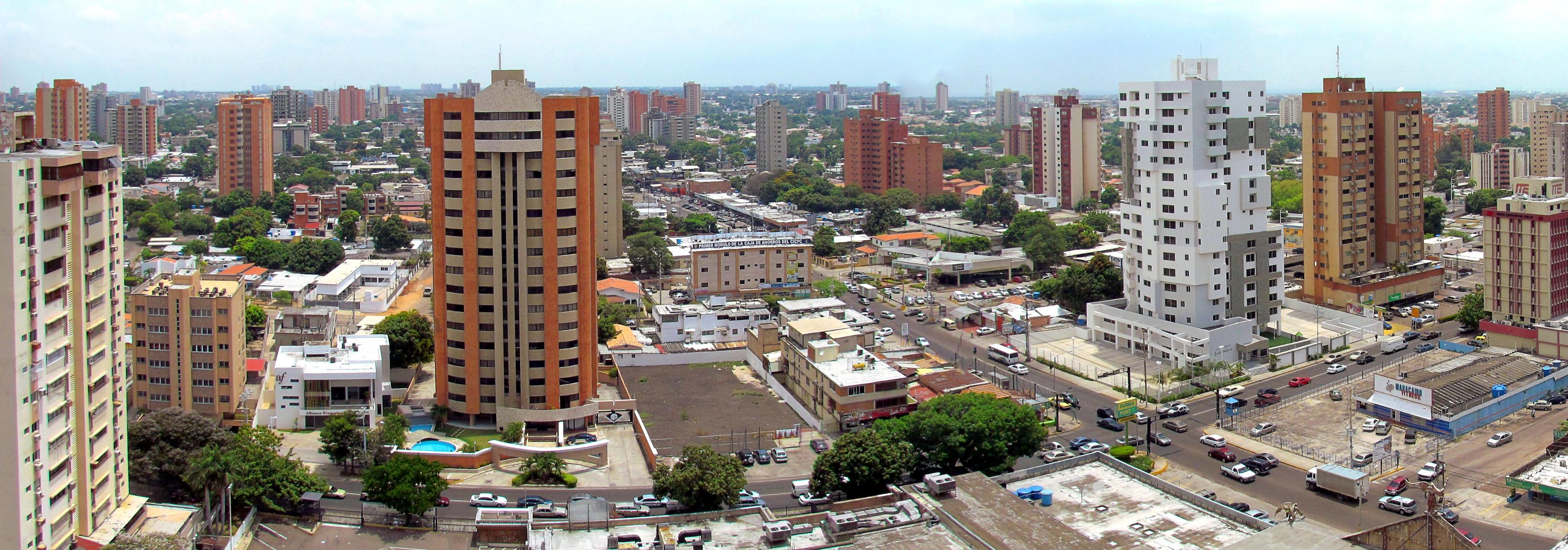 Depiction of Maracaibo