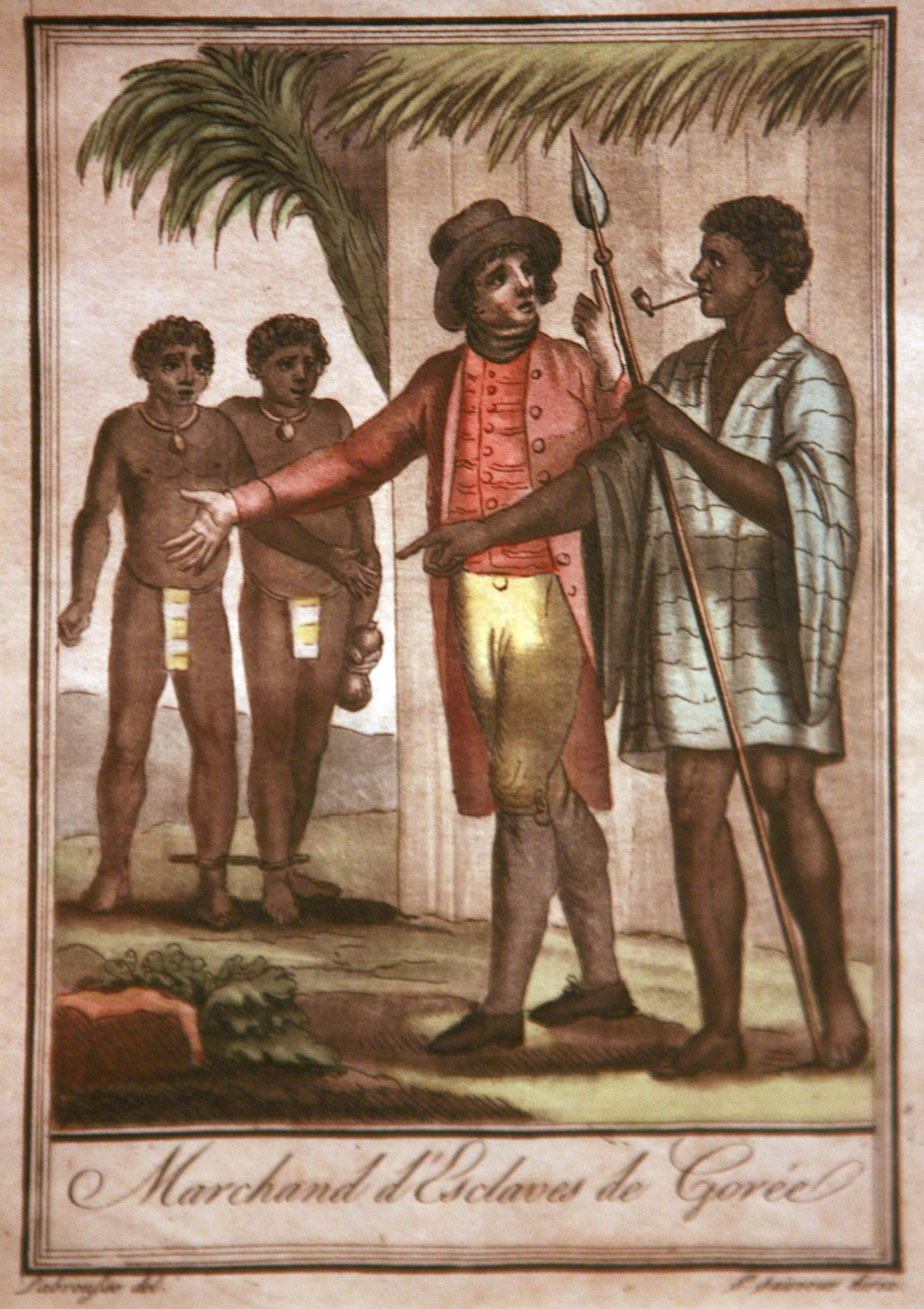 South America Cruise slaves