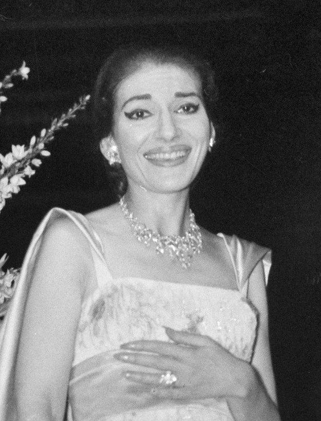Maria Callas Größe