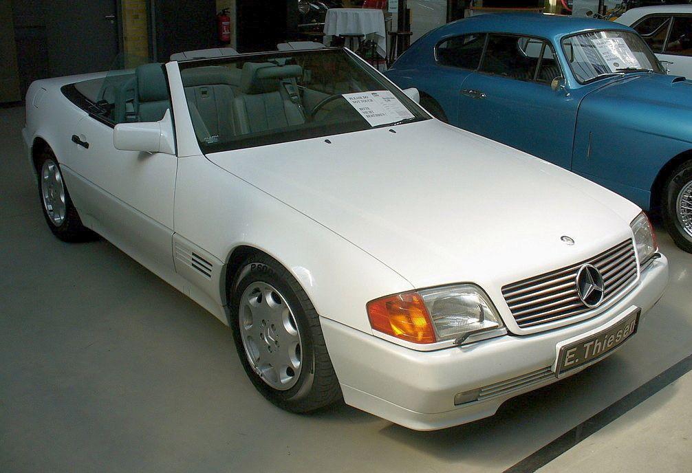 Mercedes Sl  R Dobbelentrohr