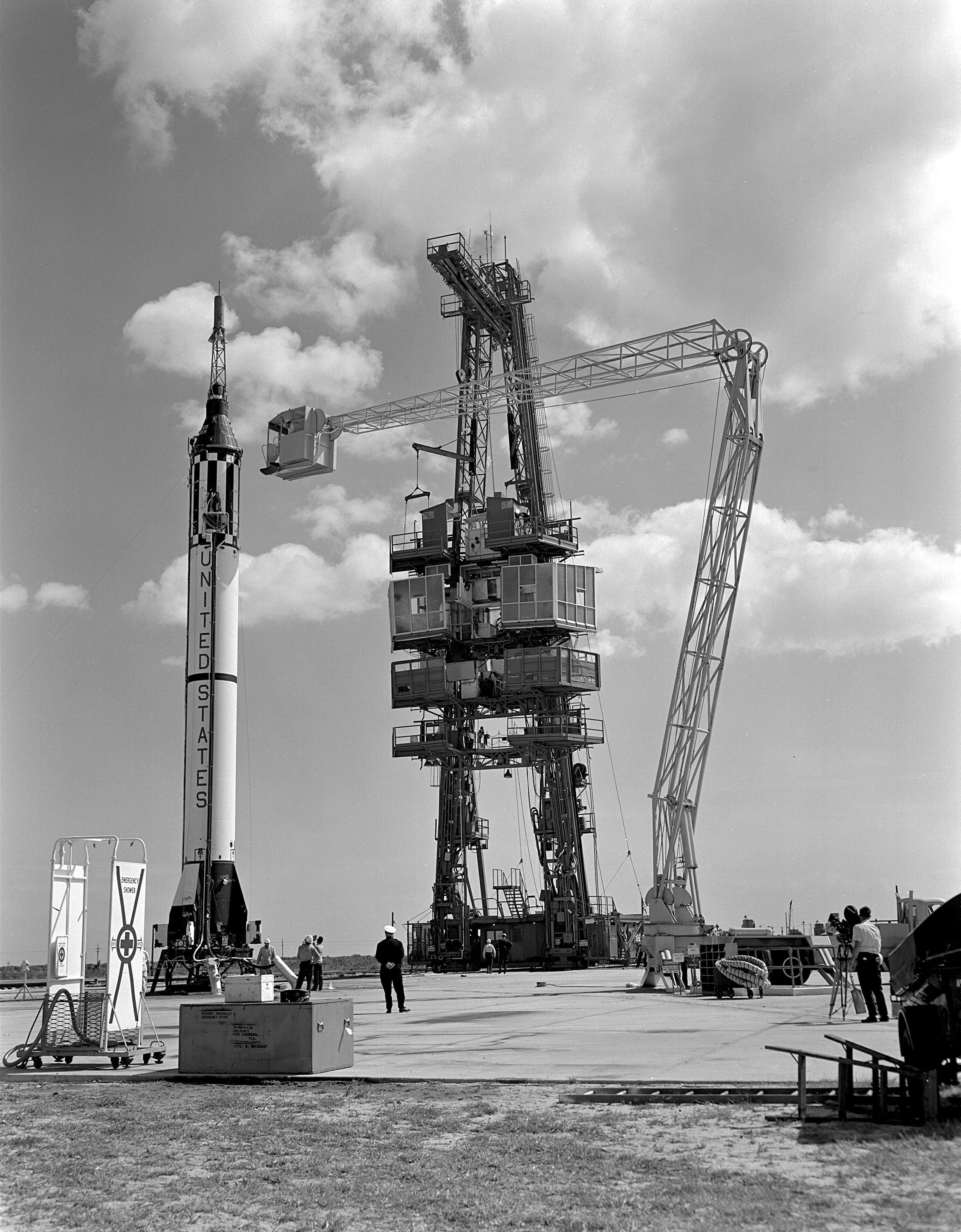Mercury-Redstone MR-3/Freedom 7 - (05.05.1961) Mercury_Redstone_3_Prelaunch_Activities_-_GPN-2000-001006