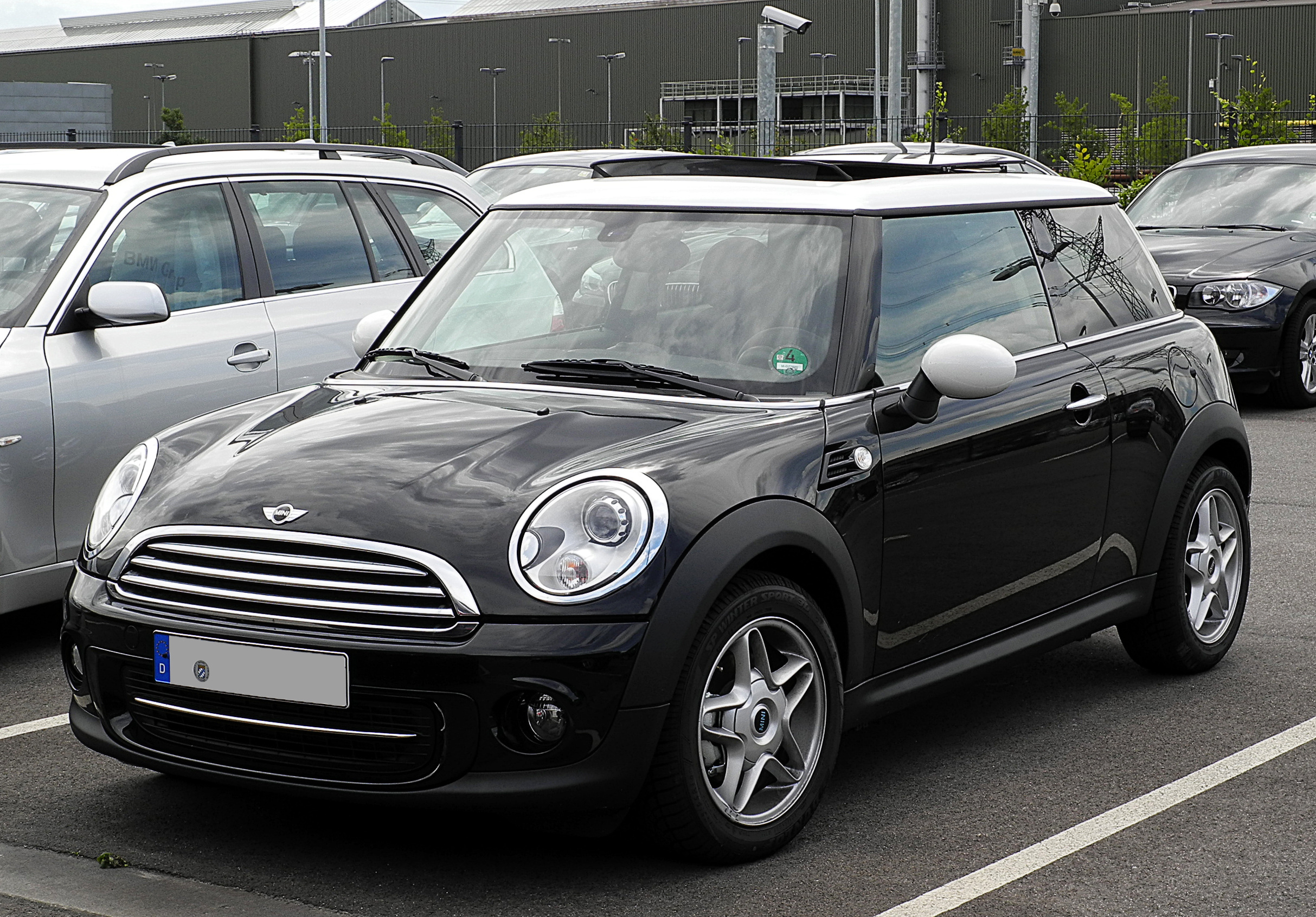 file mini cooper r56 facelift frontansicht 1 17 juli 2011 d wikipedia. Black Bedroom Furniture Sets. Home Design Ideas